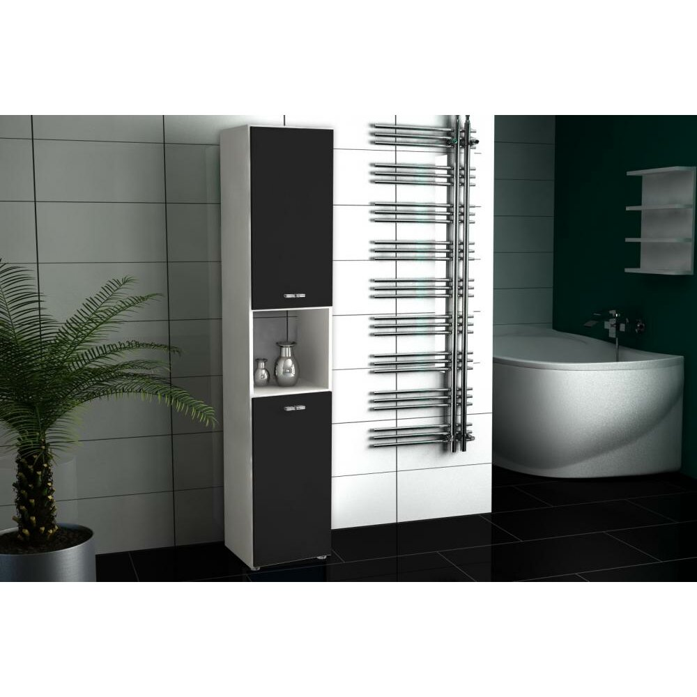 bones 5 31 x 160cm free standing tall bathroom cabinet wayfair uk