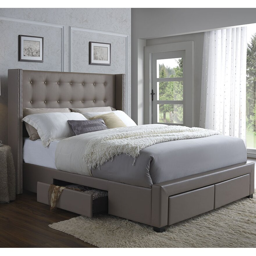 DG Casa Savoy Storage Platform Bed & Reviews