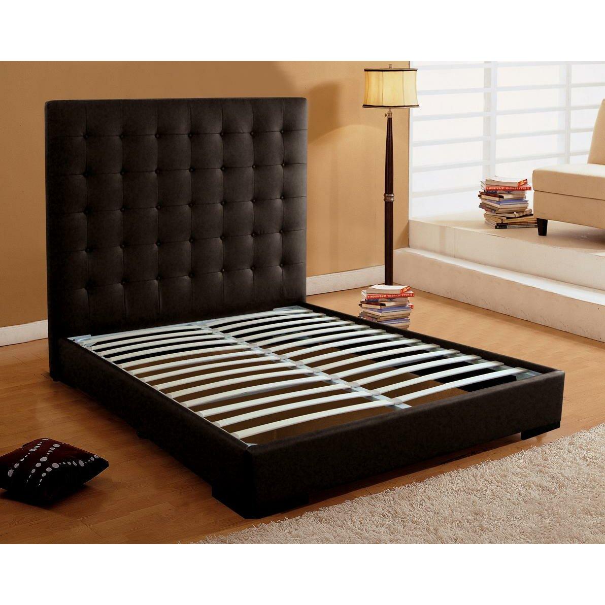 Dg casa metropolitan upholstered storage platform bed Platform king bed