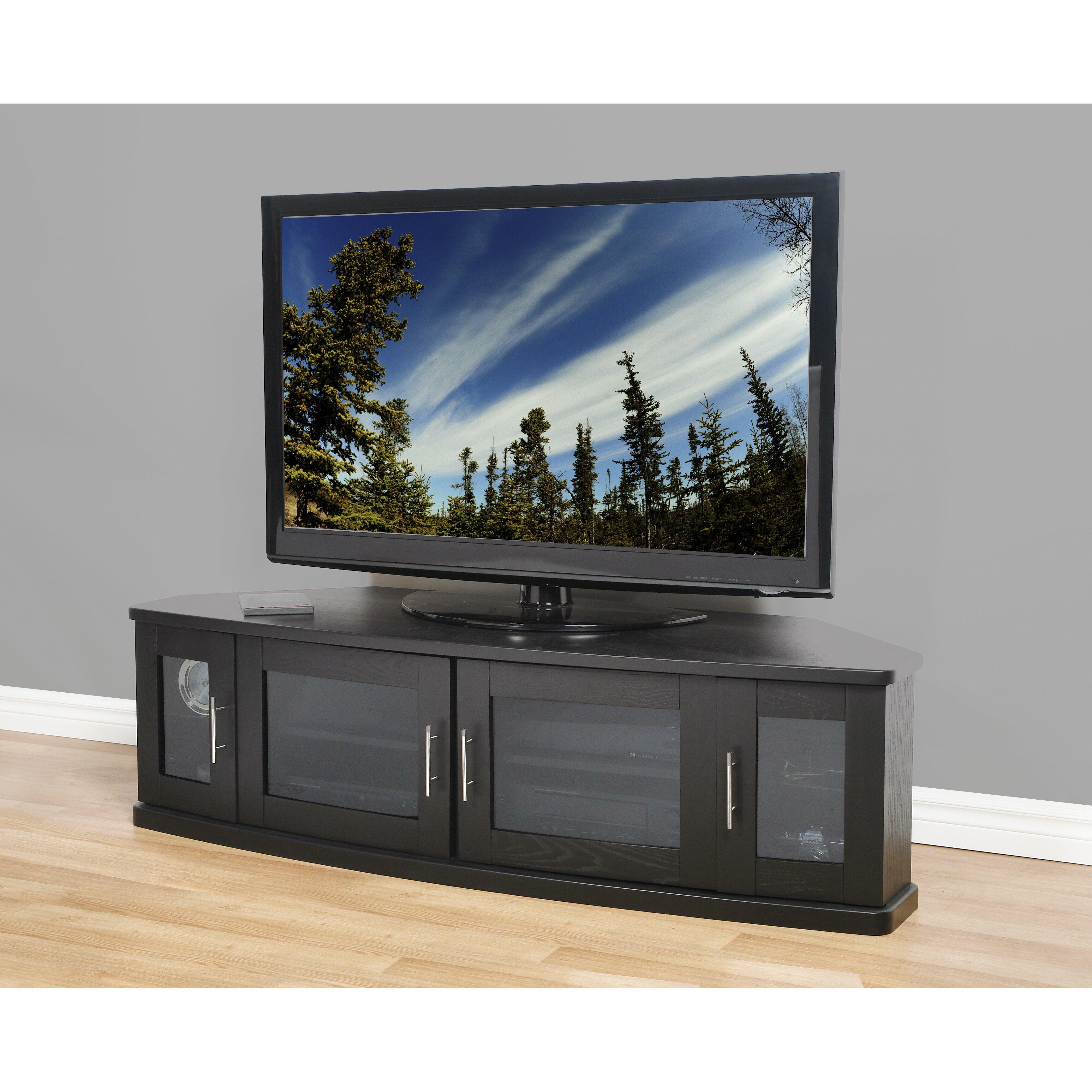 Plateau Newport Corner Tv Stand Amp Reviews Wayfair
