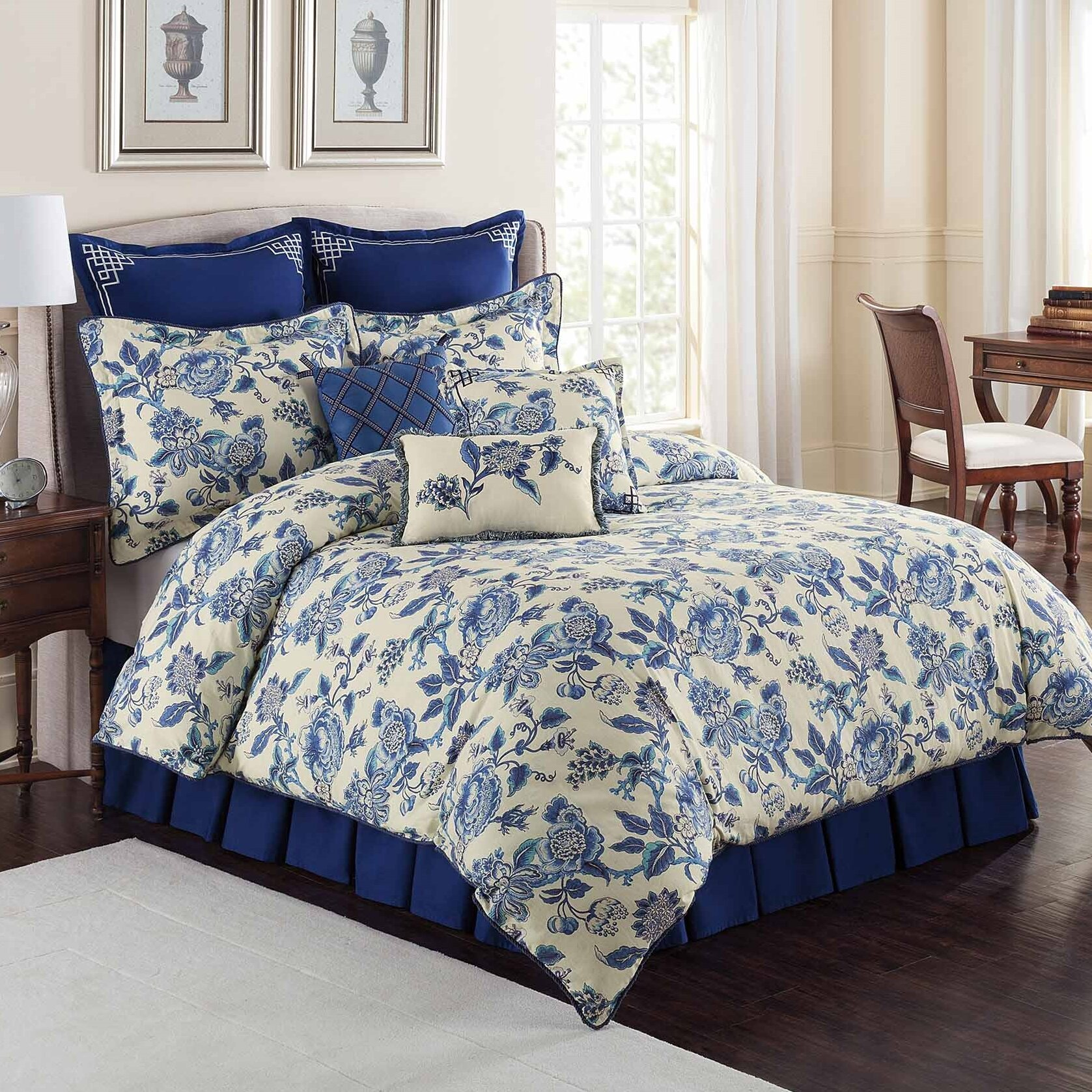 Royal Heritage Home Colonial Williamsburg Persiana Bedding  :  from www.wayfair.com size 1677 x 1677 jpeg 925kB