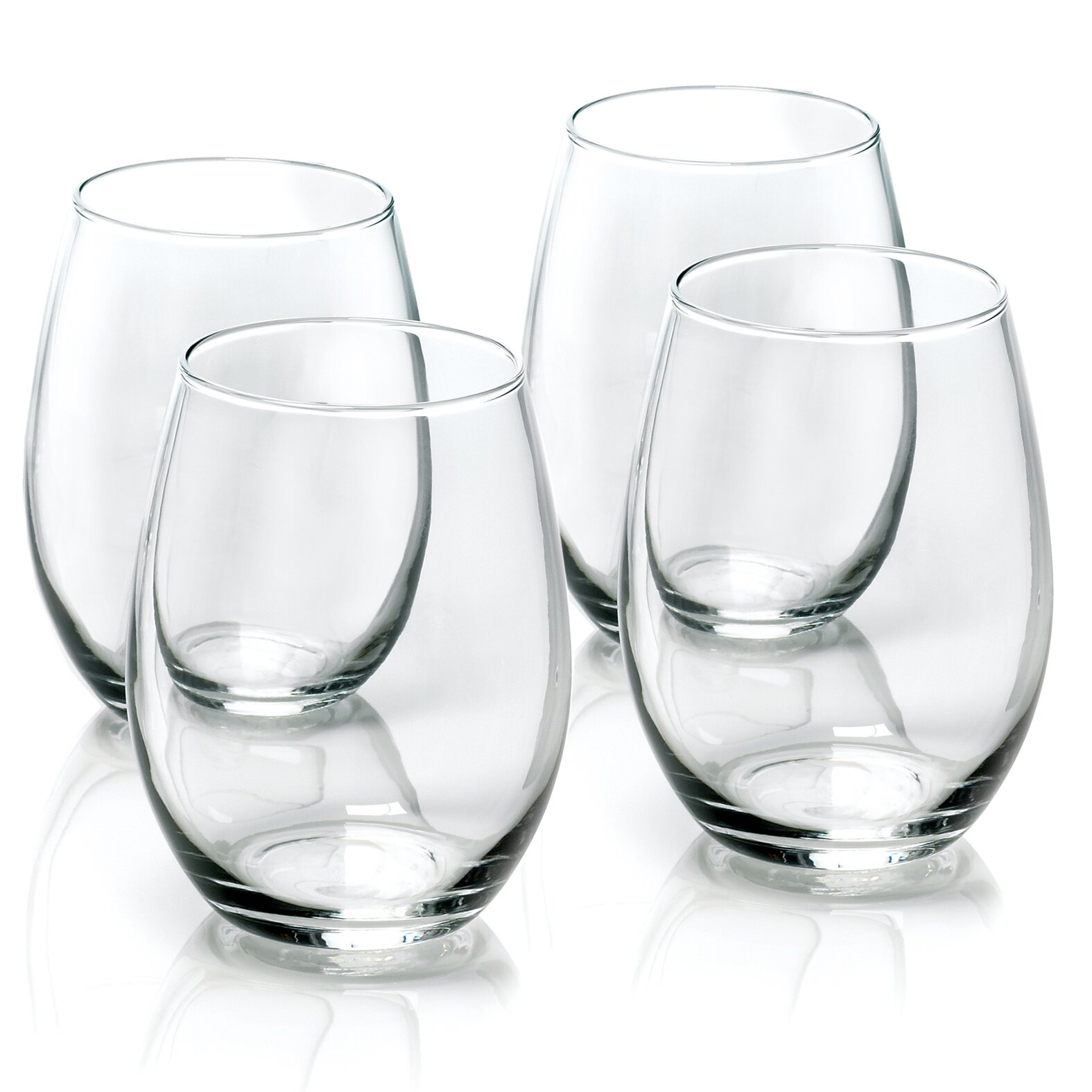 Anchor Hocking Stemless Wine Glasses Reviews Wayfair