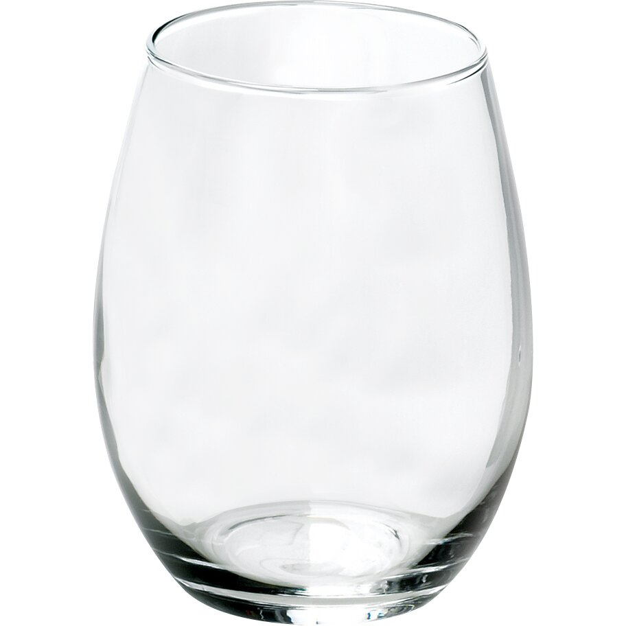 Anchor hocking stemless wine glasses reviews wayfair - Stemless wine goblets ...