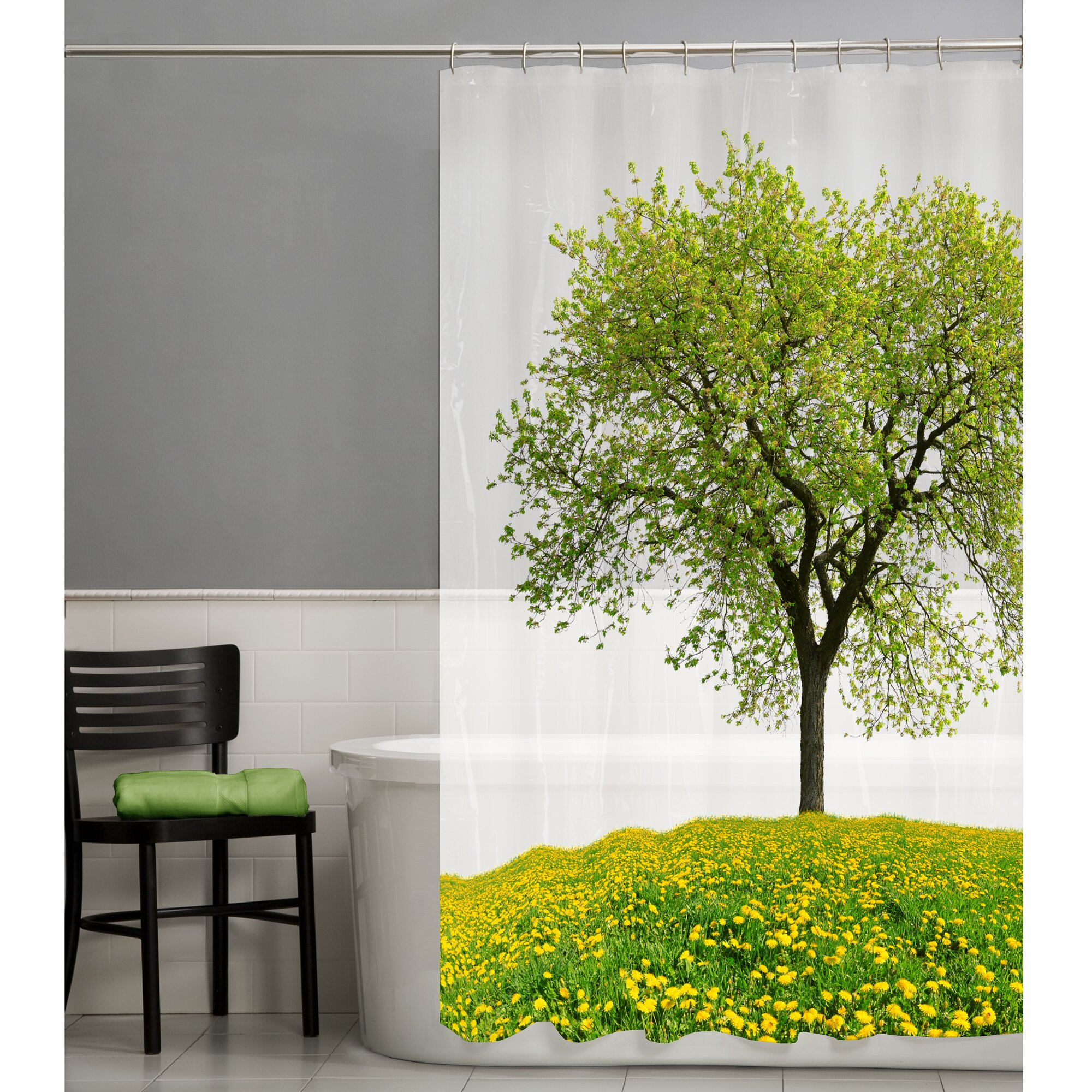Style selections eva peva print multi fish shower curtain at lowes com - Maytex Seasons Peva Shower Curtain Reviews Wayfair China