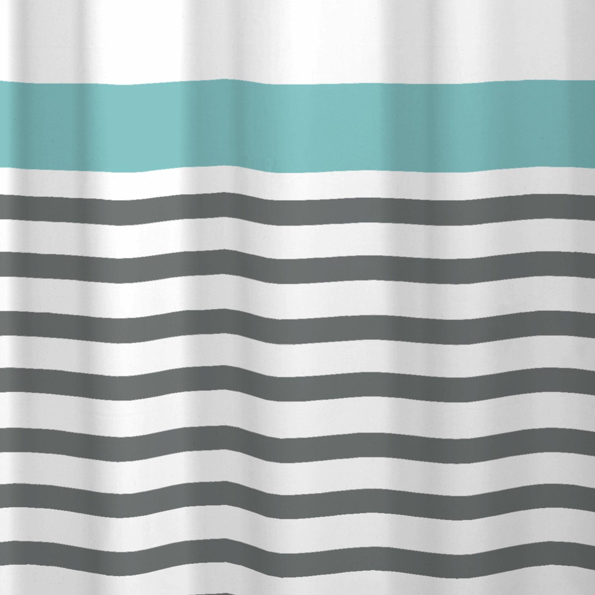 Maytex Simple Stripe Shower Curtain & Reviews