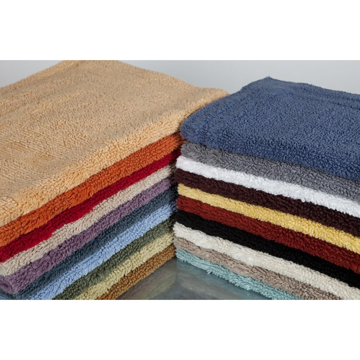Home source international reversible cotton bath rug for International decor bathroom rugs
