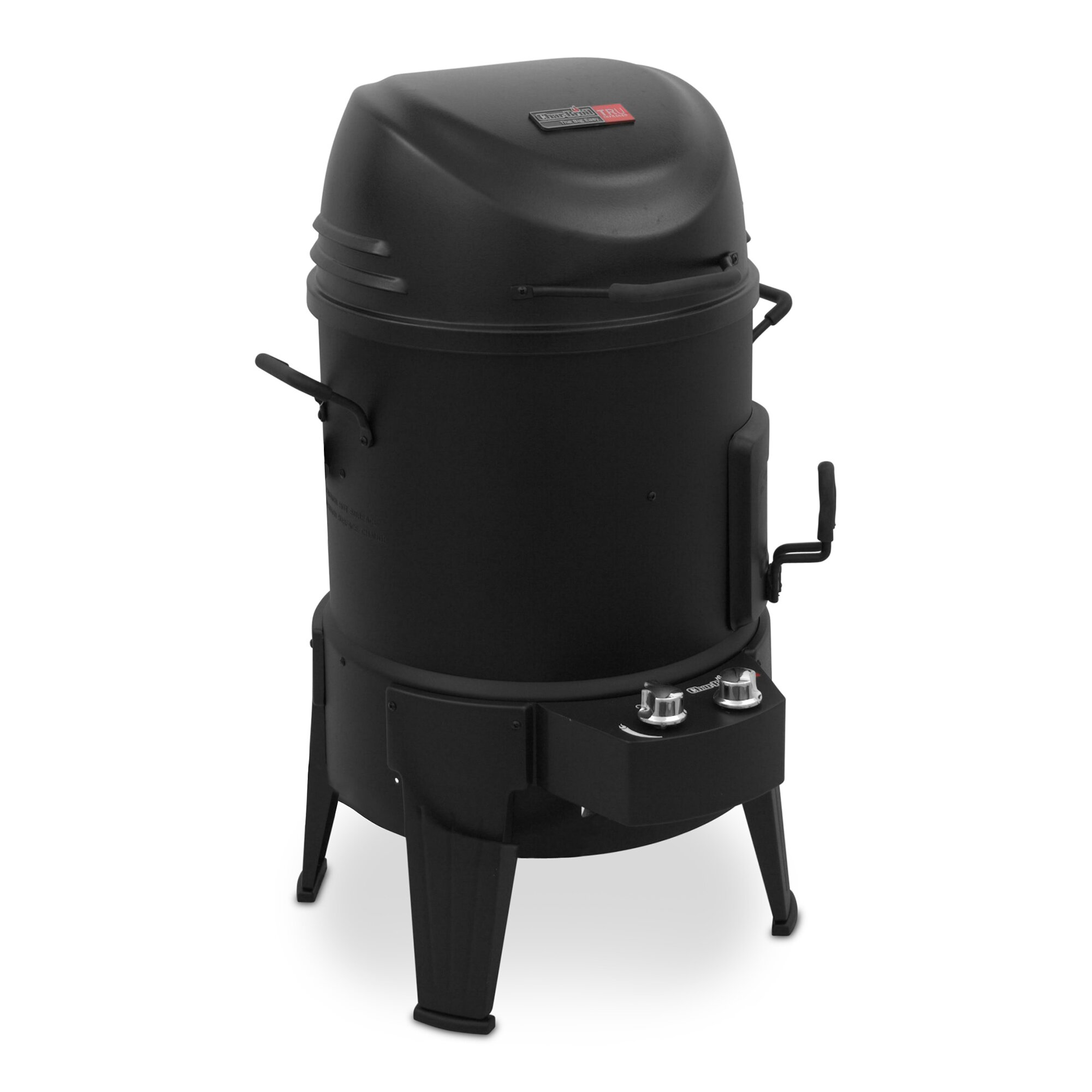 charbroil the big easy tru infrared propane smoker roaster and grill reviews wayfair. Black Bedroom Furniture Sets. Home Design Ideas