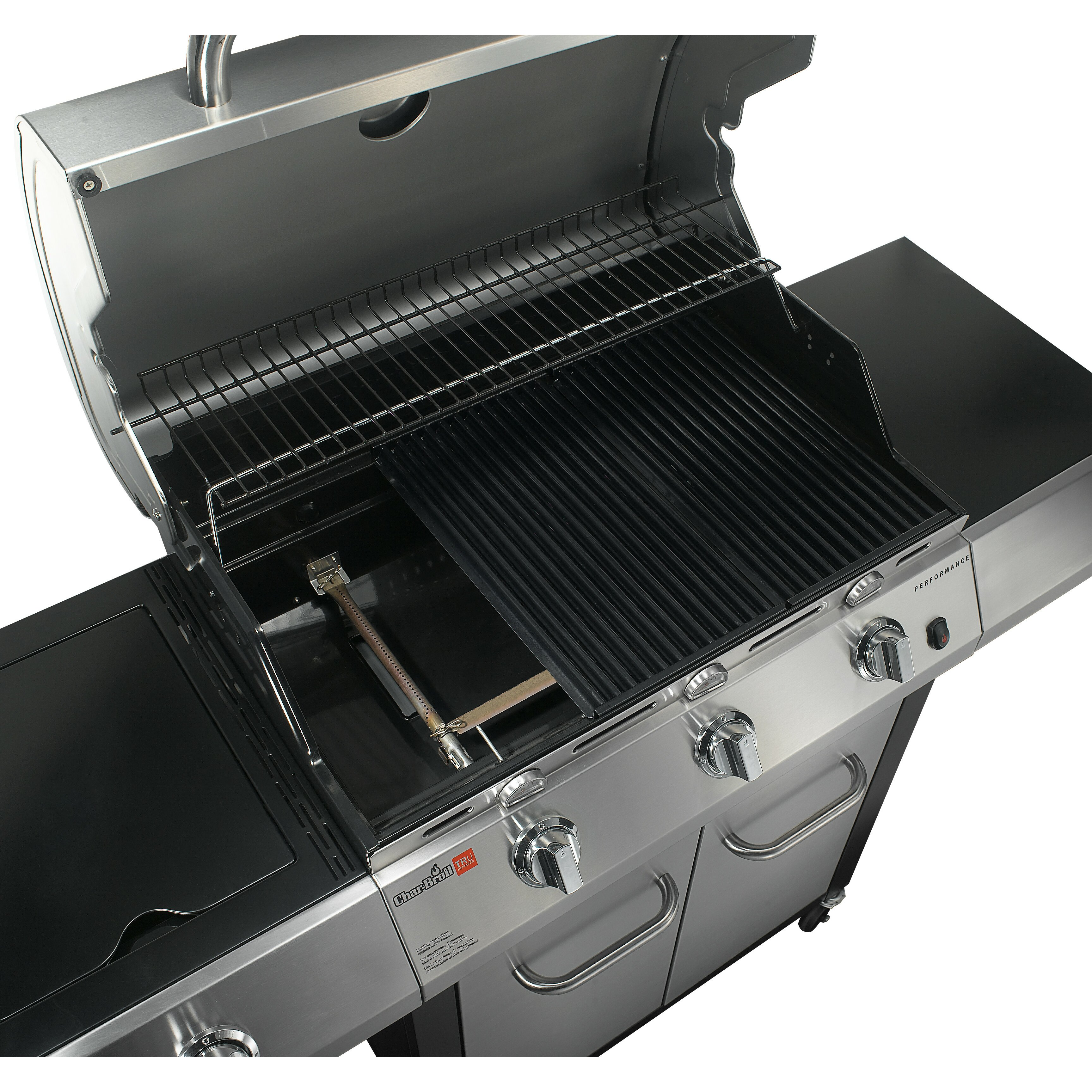 Charbroil Tru Infrared Performance 3 Burner Gas Grill With