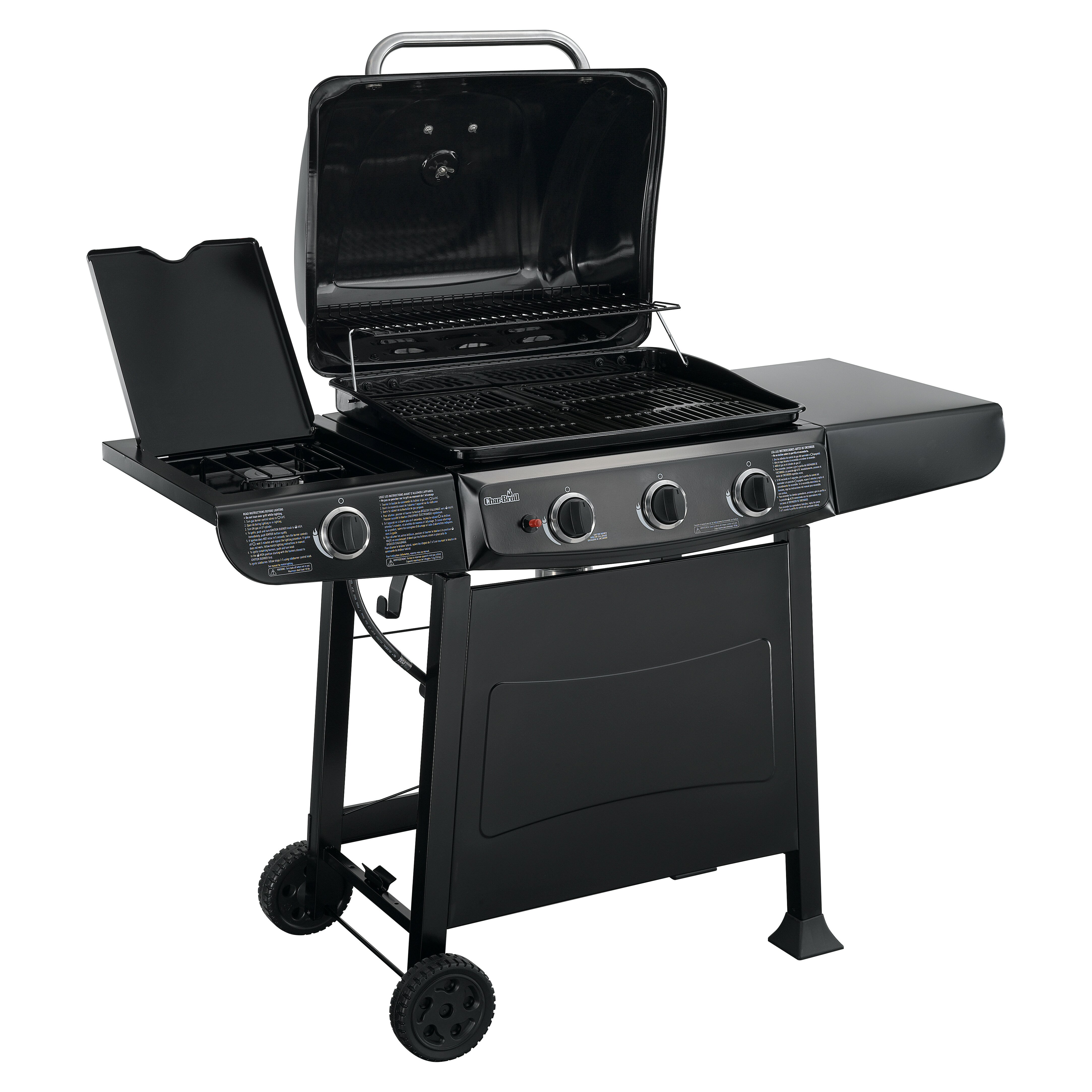 charbroil gas grill with side burner reviews wayfair. Black Bedroom Furniture Sets. Home Design Ideas