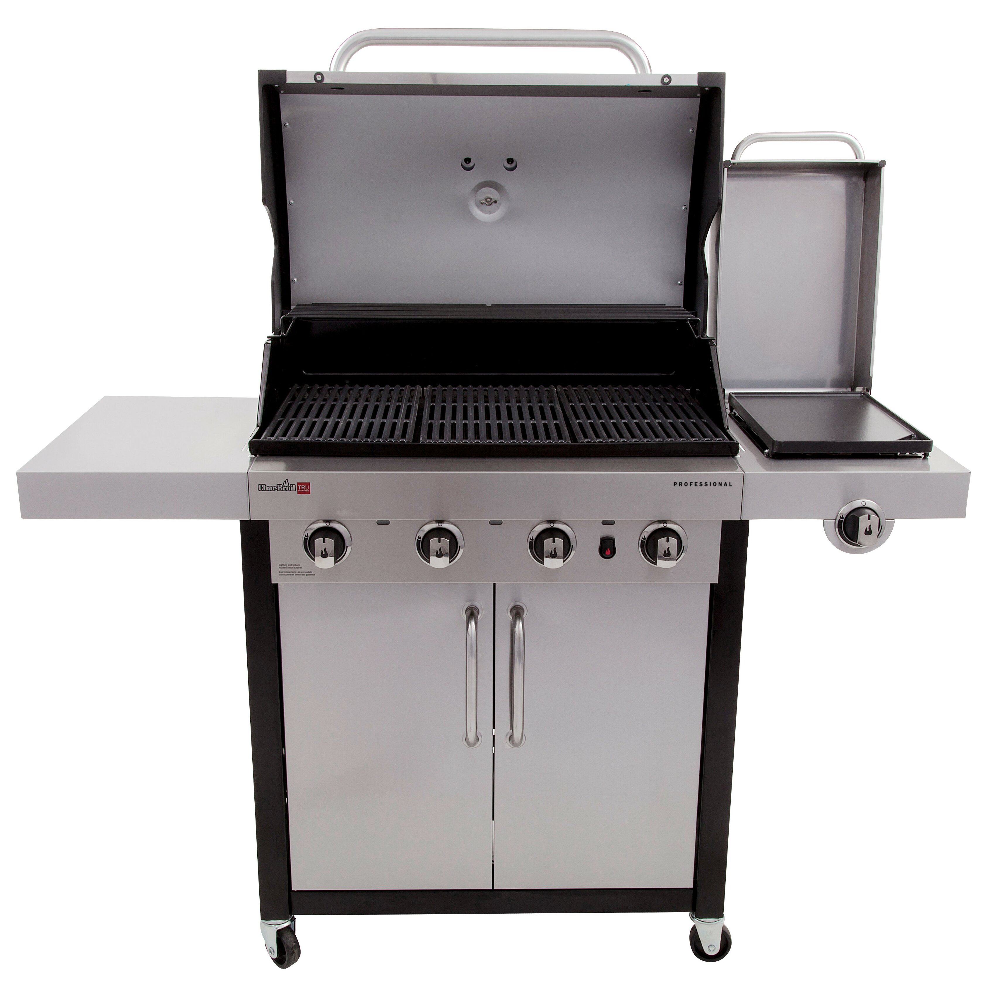 Sides On The Grill: CharBroil Professional Gas Grill With Side Burner