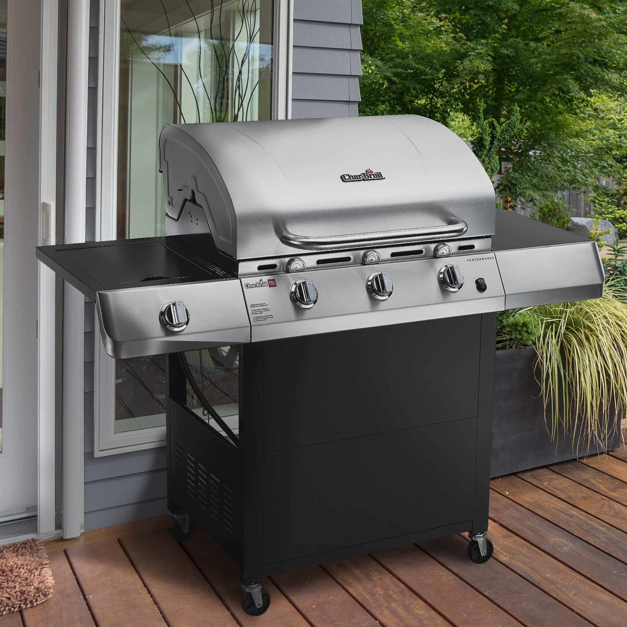 Sides On The Grill: CharBroil TRU-Infrared Performance 3 Burner Gas Grill With