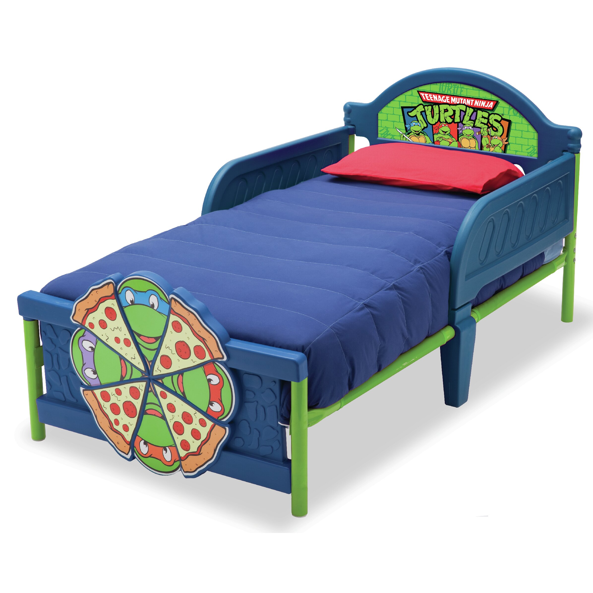 Delta Children Ninja Turtles Convertible Toddler Bed
