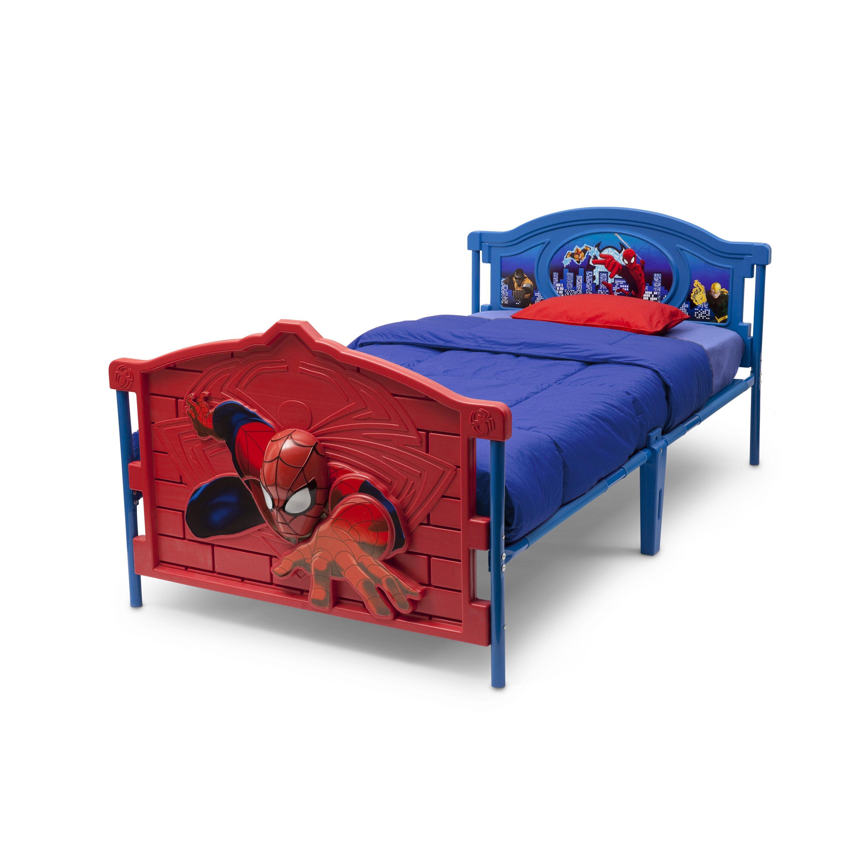 Delta Children Marvel Spider Man 3 D Twin Convertible