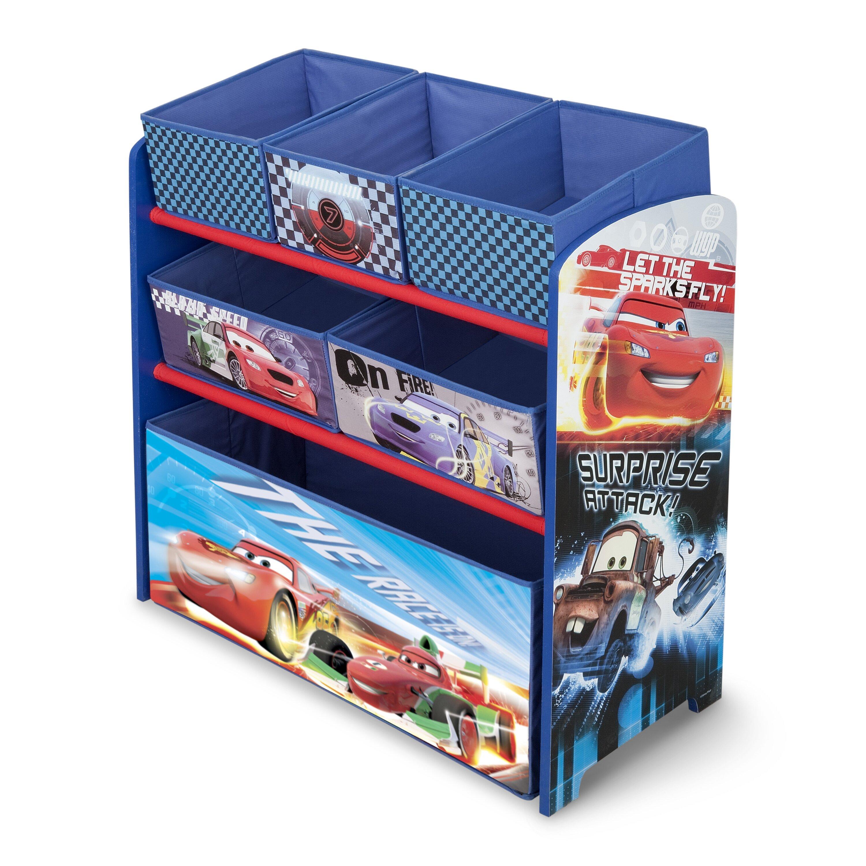 Car Toy Organizer : Delta children cars multi bin toy organizer reviews