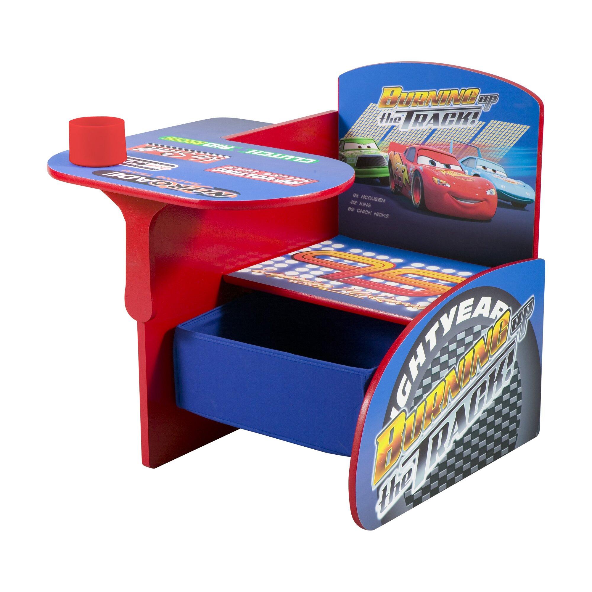 Delta Children Cars Kids Desk Chair With Storage