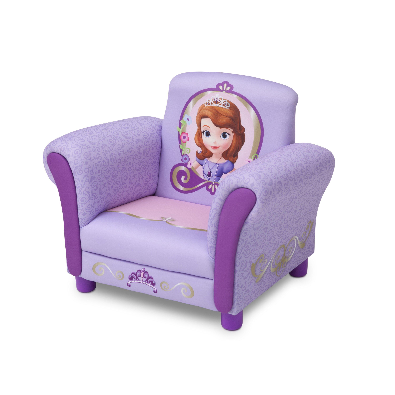 Toddler Club Chair Delta Children Sofia The First Kids Club Chair