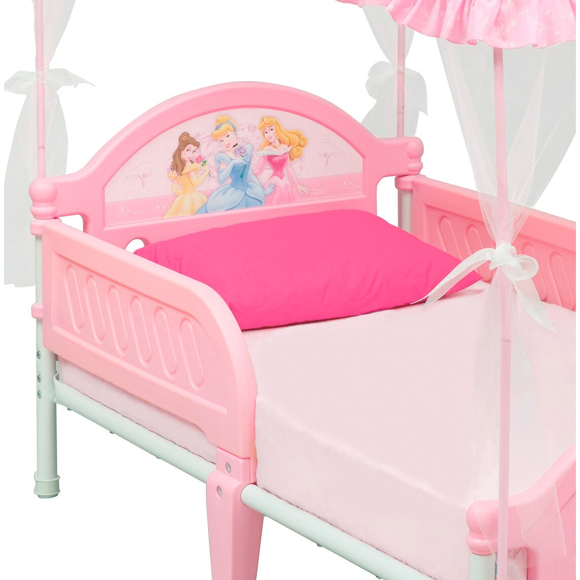 delta children disney princess convertible toddler bed. Black Bedroom Furniture Sets. Home Design Ideas