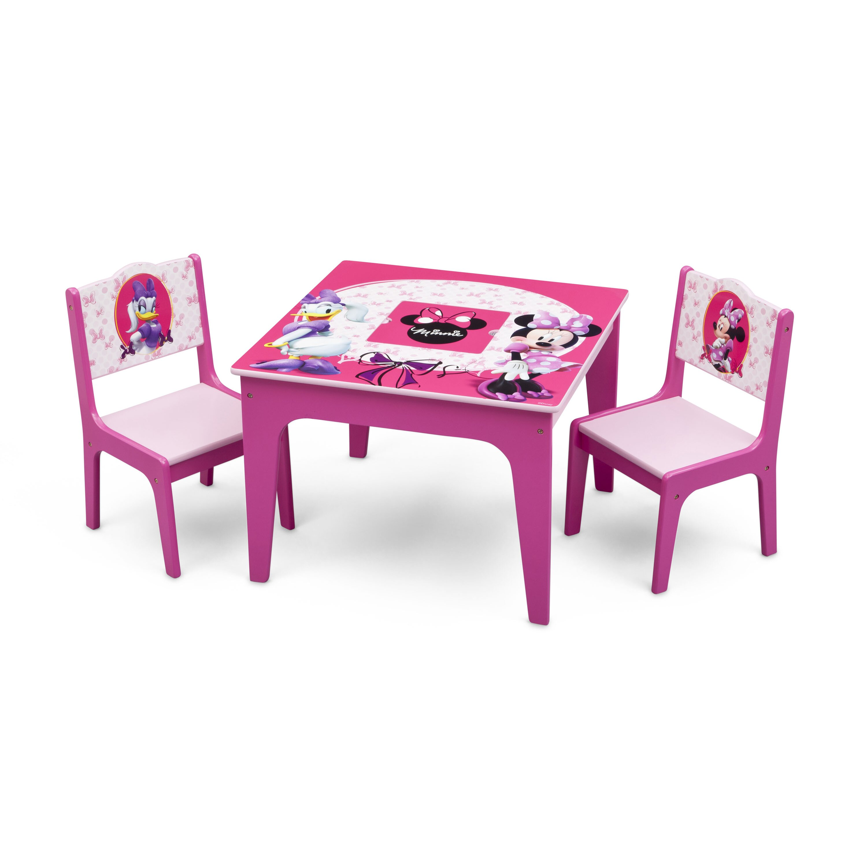 Delta Children Minnie Mouse Kids 3 Piece Table And Chair