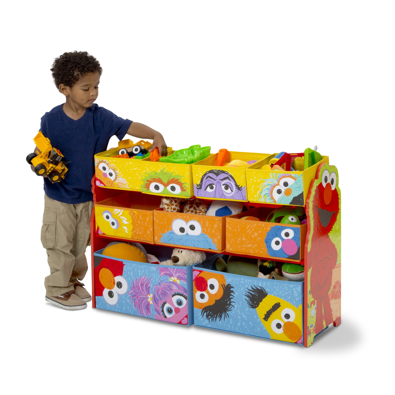 Sesame Street Toys For Toddlers : Delta children sesame street toy organizer reviews wayfair