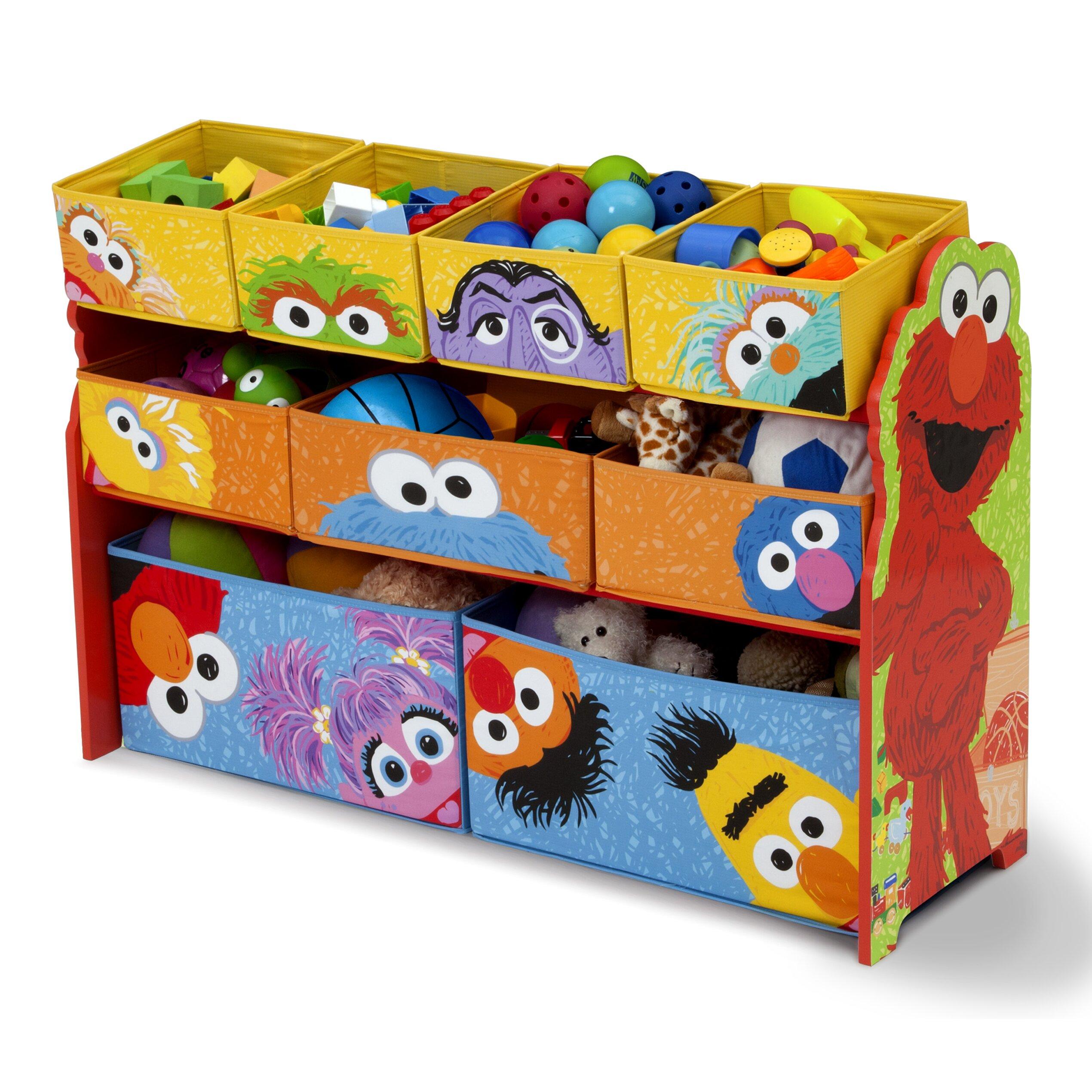 Delta Children Sesame Street Toy Organizer Amp Reviews