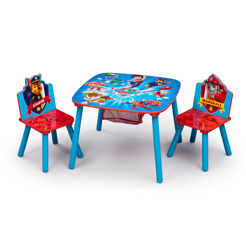 Delta Children Nick Jr Kids 3 Piece Paw Patrol Table And