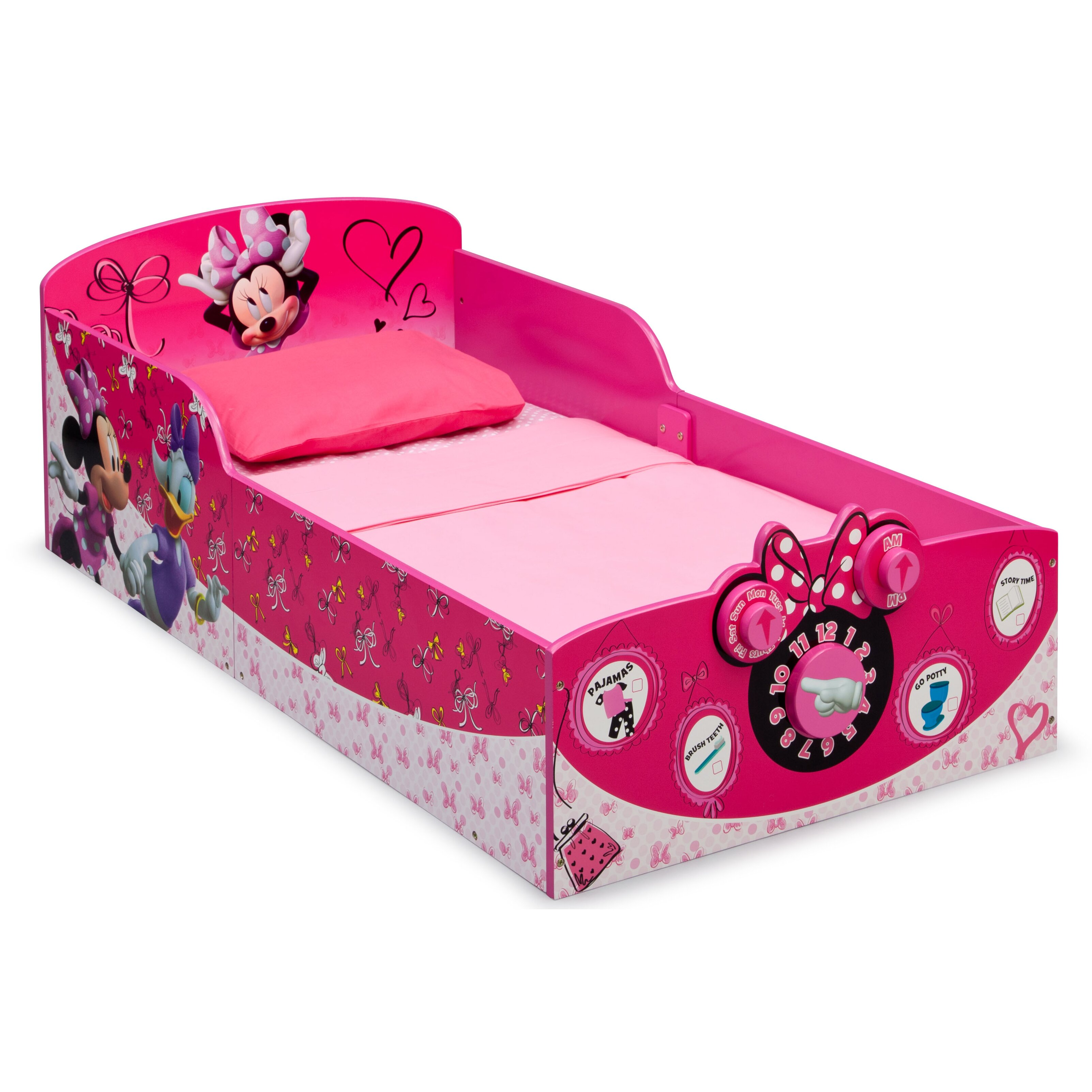 Delta Children Minnie Mouse Toddler Bed Amp Reviews Wayfair