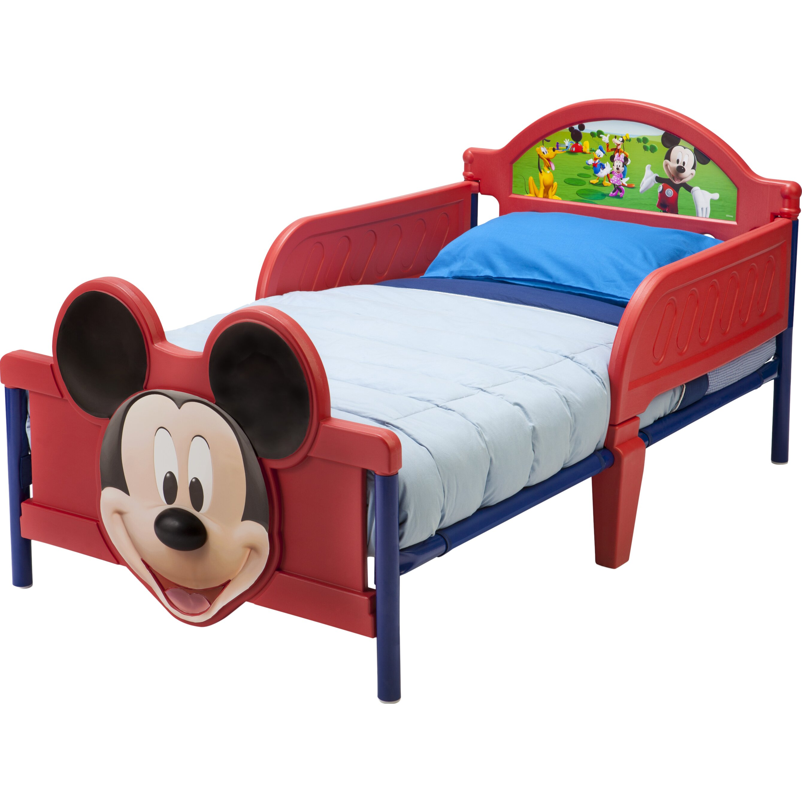 Delta Children Disney Mickey Mouse 3D Convertible Toddler