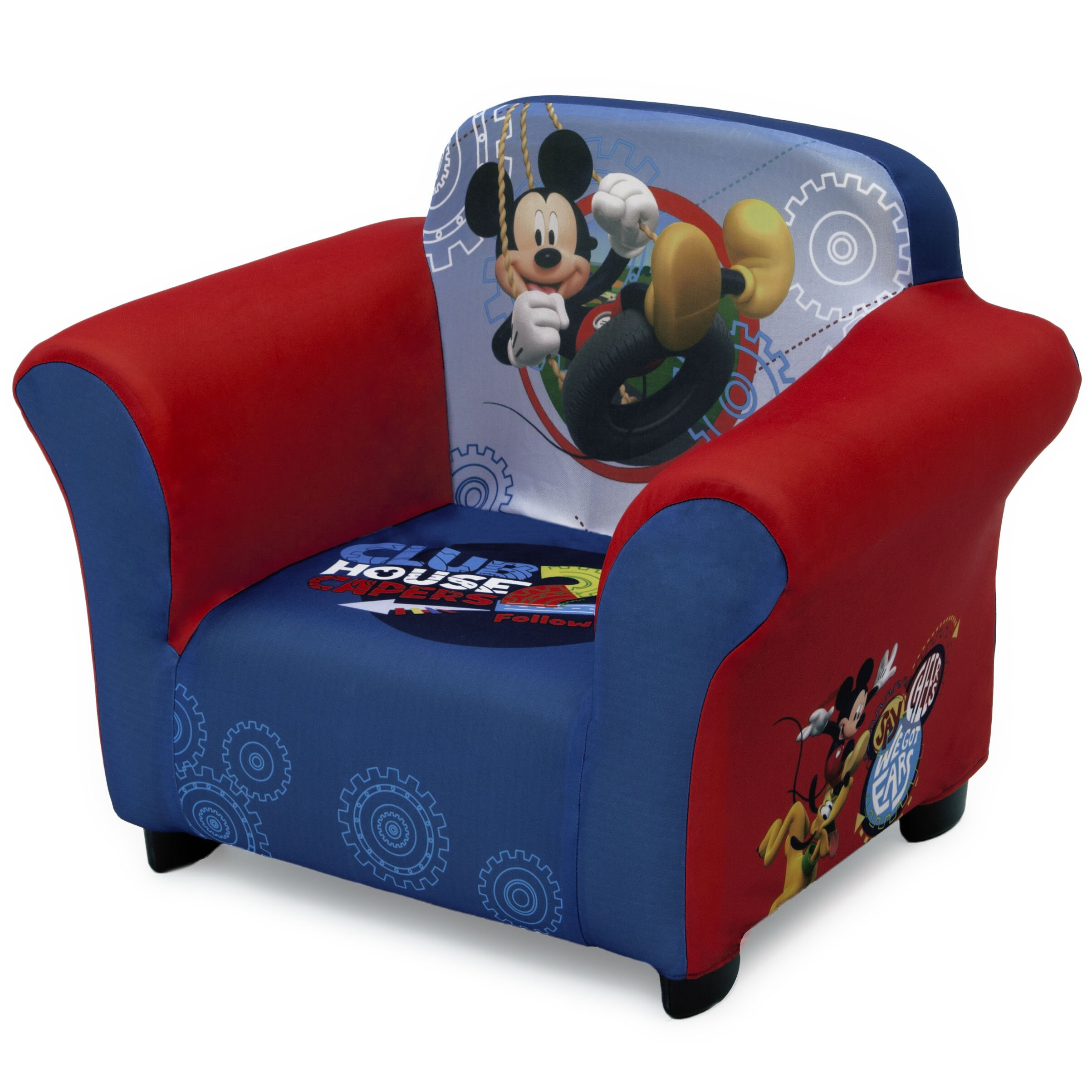 delta children disney mickey mouse kids club chair reviews. Black Bedroom Furniture Sets. Home Design Ideas