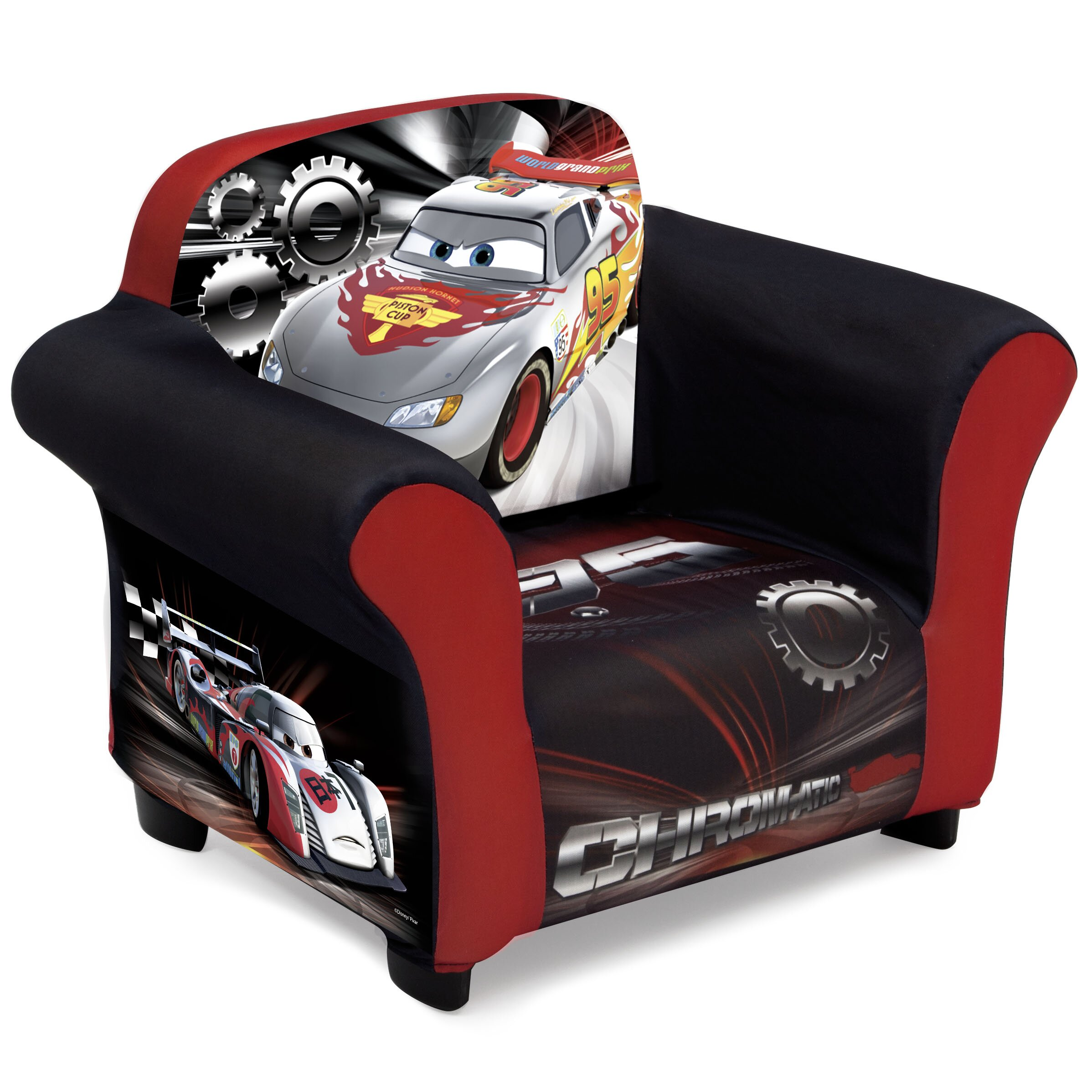 Delta Children Disney Pixar Cars Kids Upholstered Club