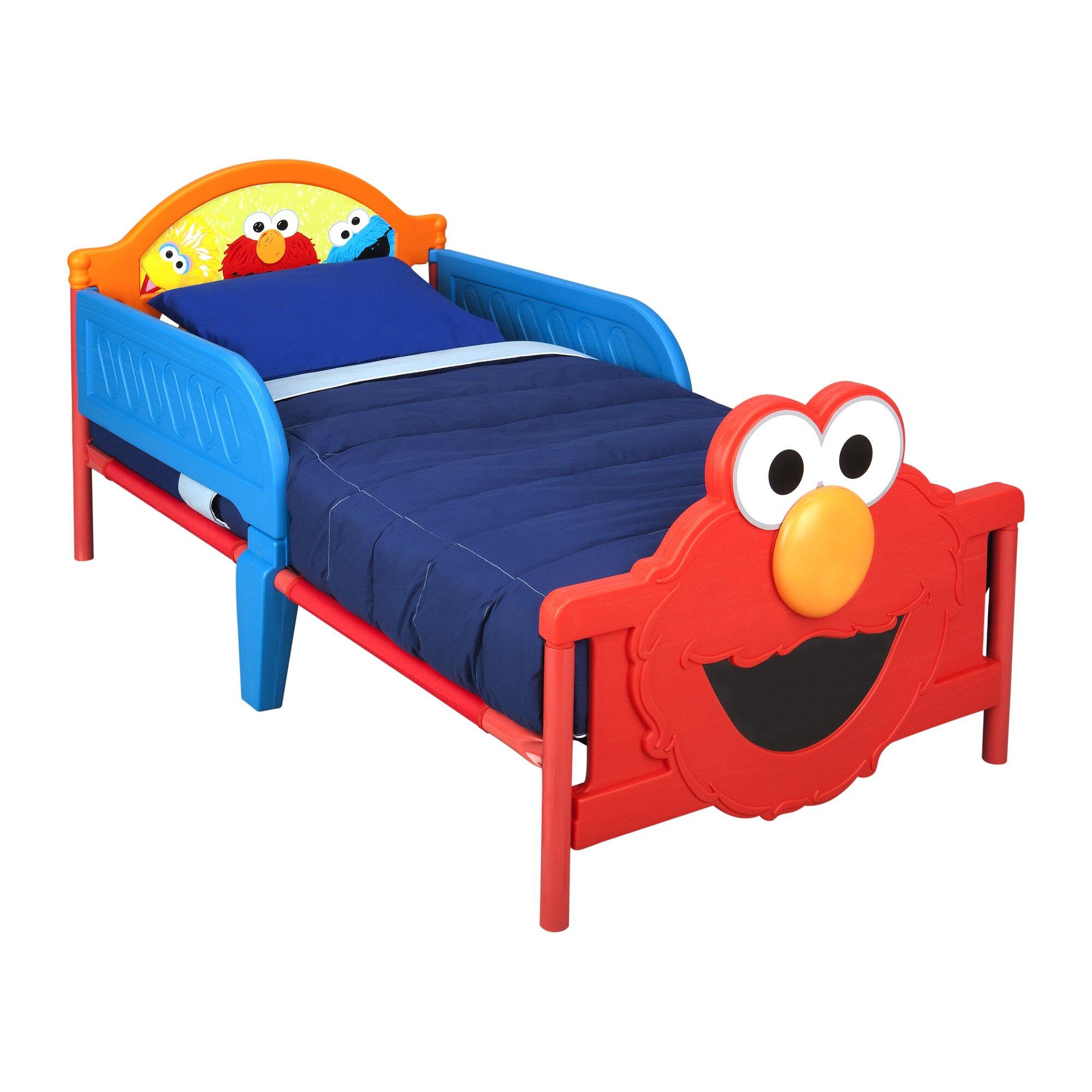 Delta Children Sesame Street 3D Convertible Toddler Bed ...
