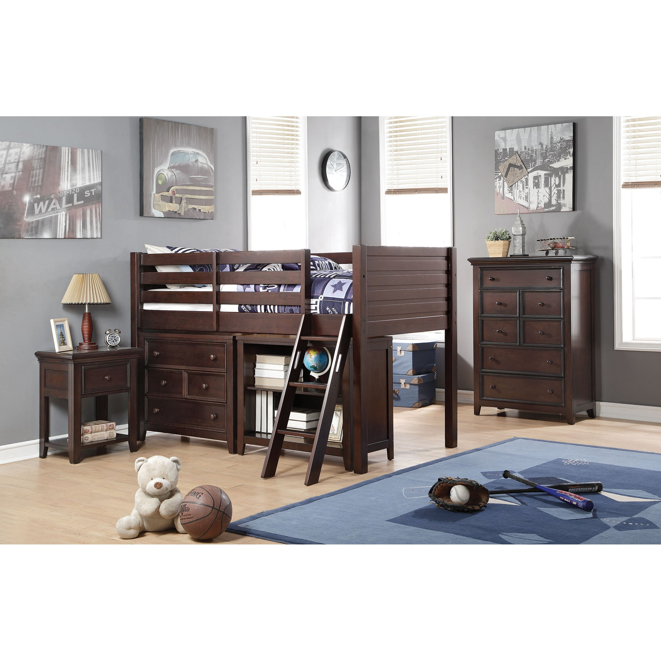 acme furniture lacey loft 2 piece bedroom set wayfair bedroom sets for girls bunk beds with slide stairs diy
