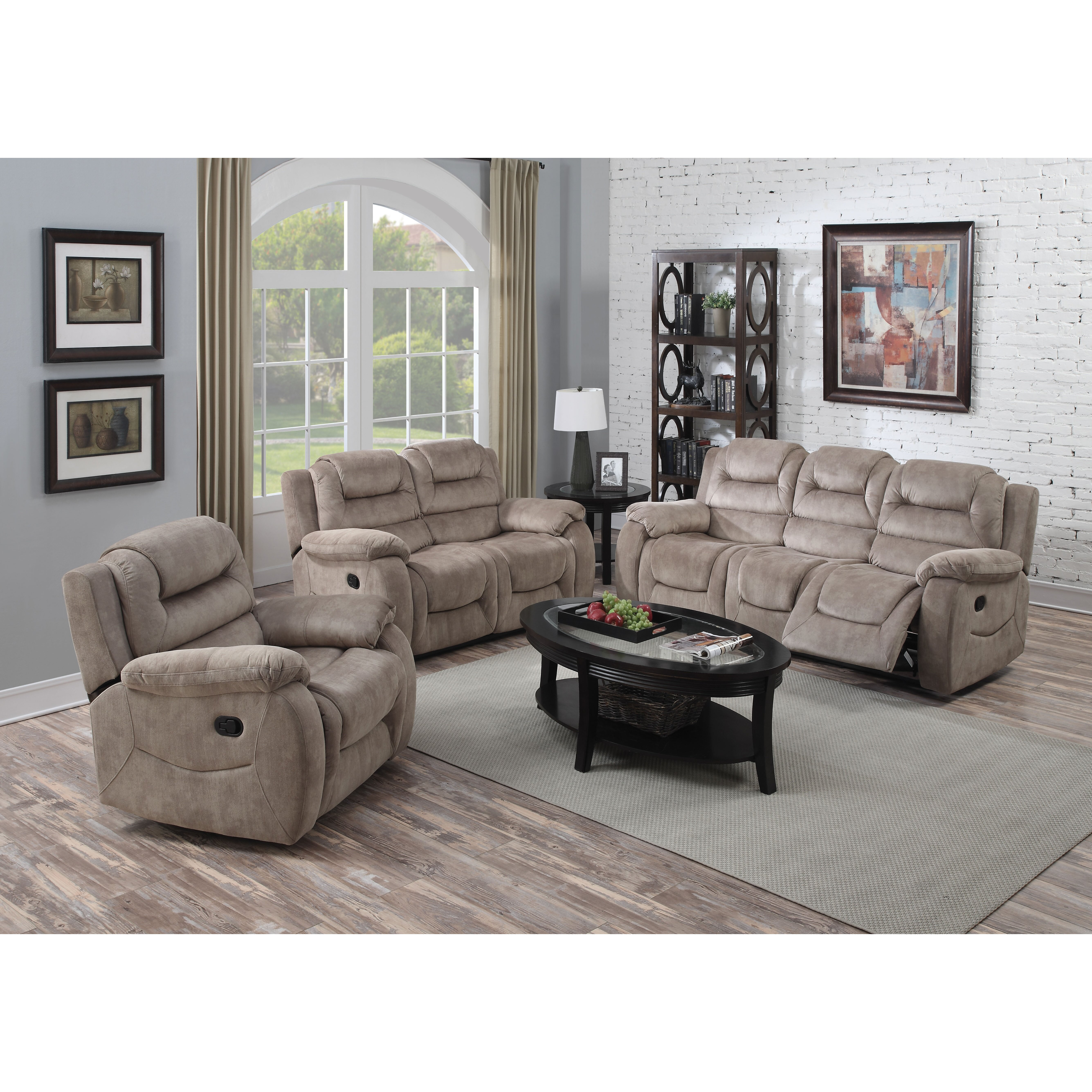 Livingroomfurniture: ACME Furniture Dreka Living Room Collection