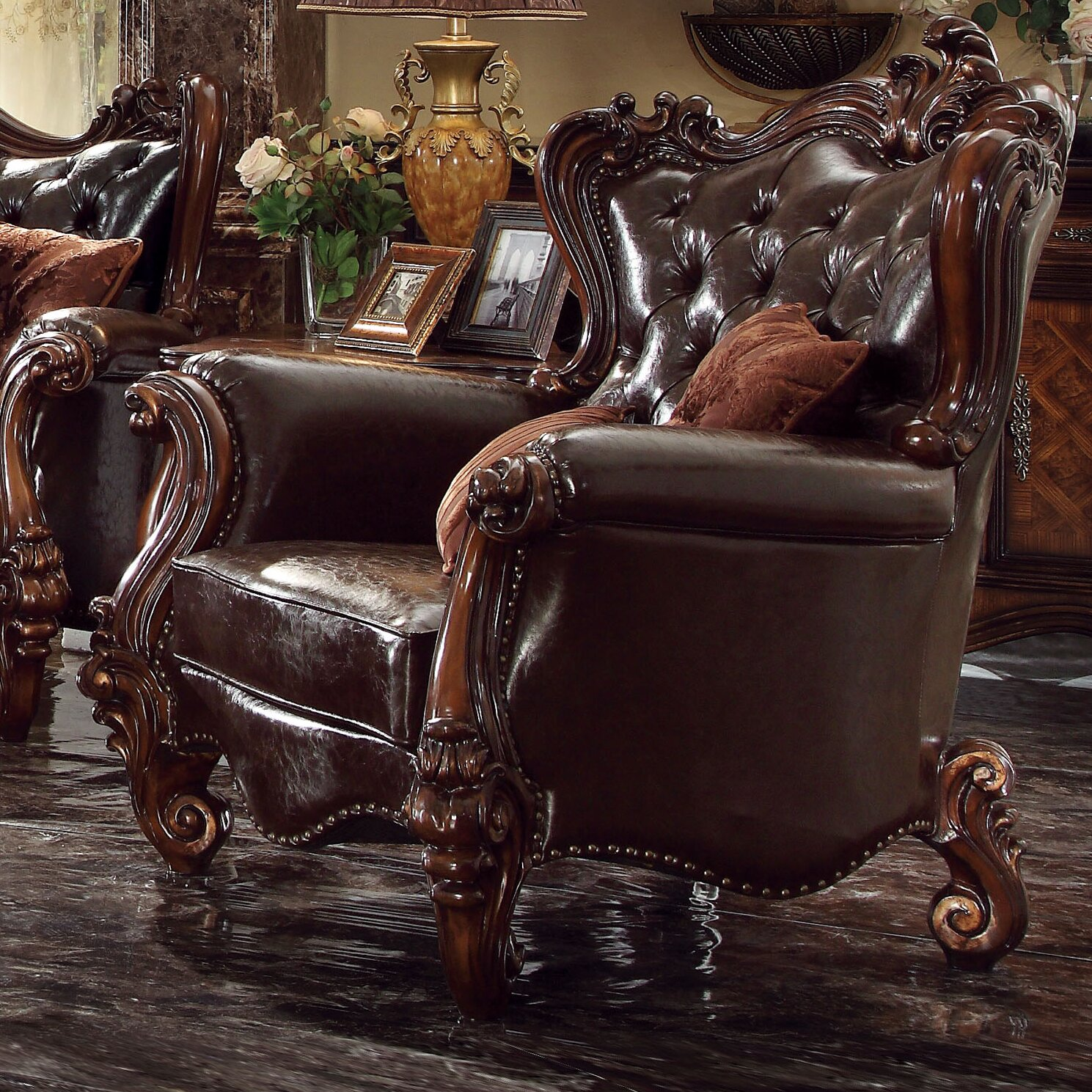 Acme Furniture Versailles Living Room Collection Wayfair