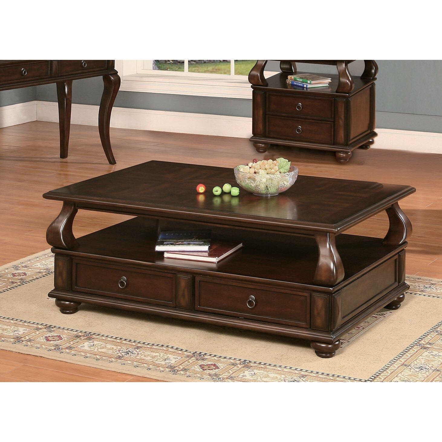 Acme Furniture Amado Coffee Table Set Wayfair