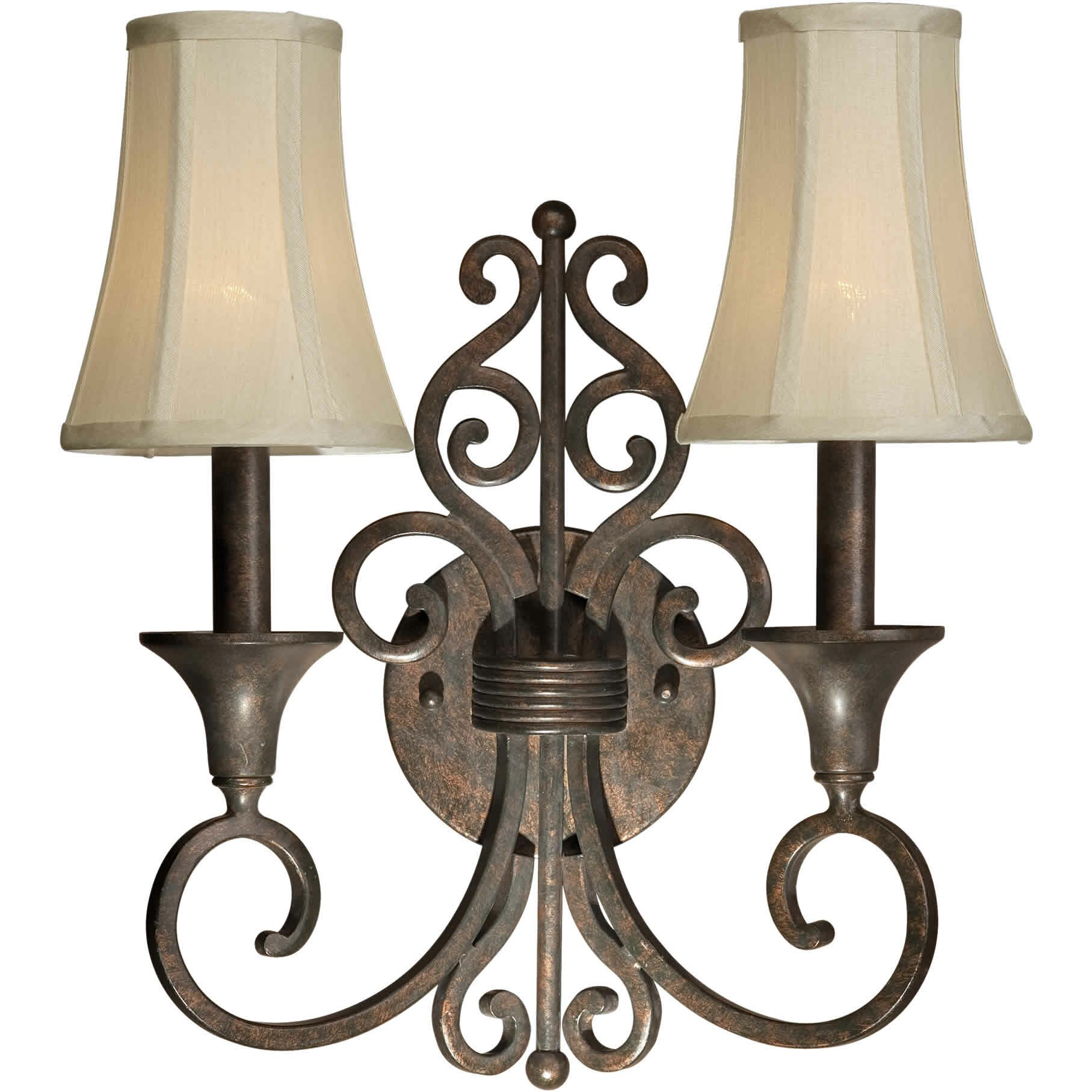 Wall Sconces At Wayfair : Forte Lighting 2 Light Wall Sconce & Reviews Wayfair