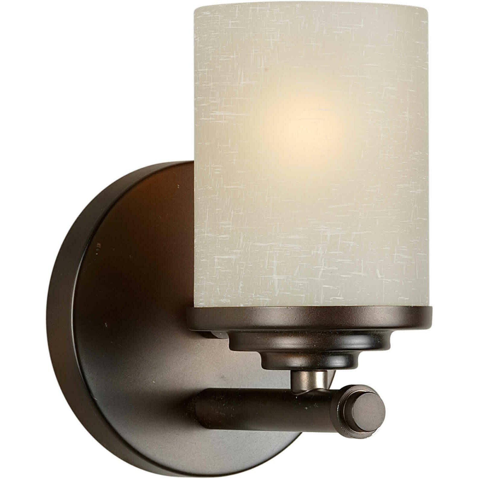 Forte Lighting 1 Light Wall Sconce Reviews Wayfair