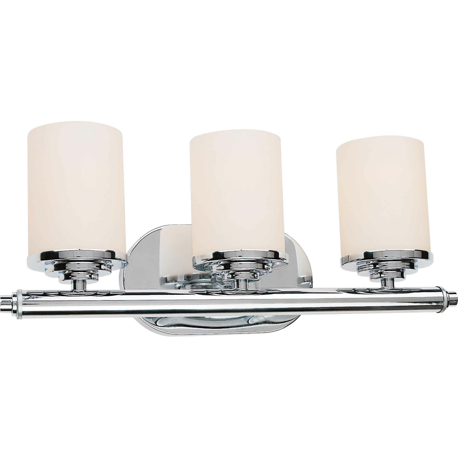 Three Light Bathroom Vanity Light: Forte Lighting 3 Light Vanity Light & Reviews