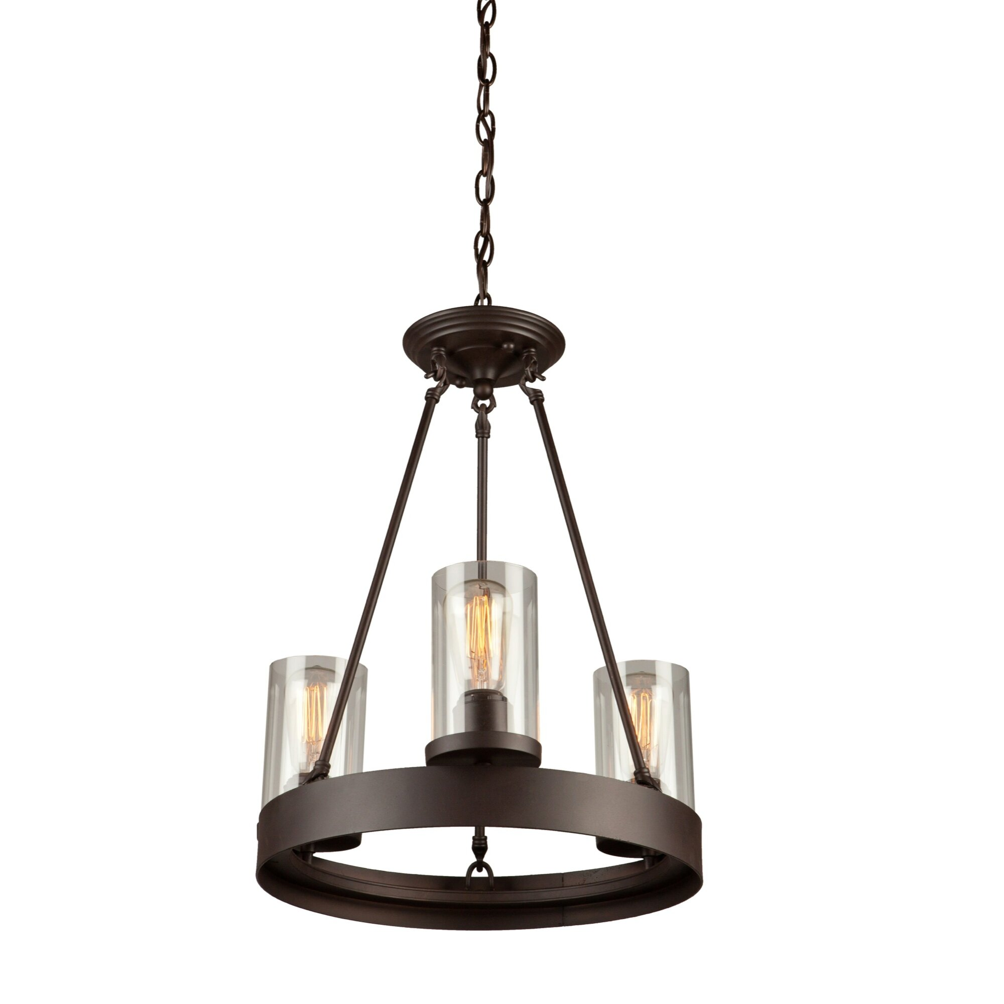 artcraft lighting melno park 3 light mini chandelier. Black Bedroom Furniture Sets. Home Design Ideas
