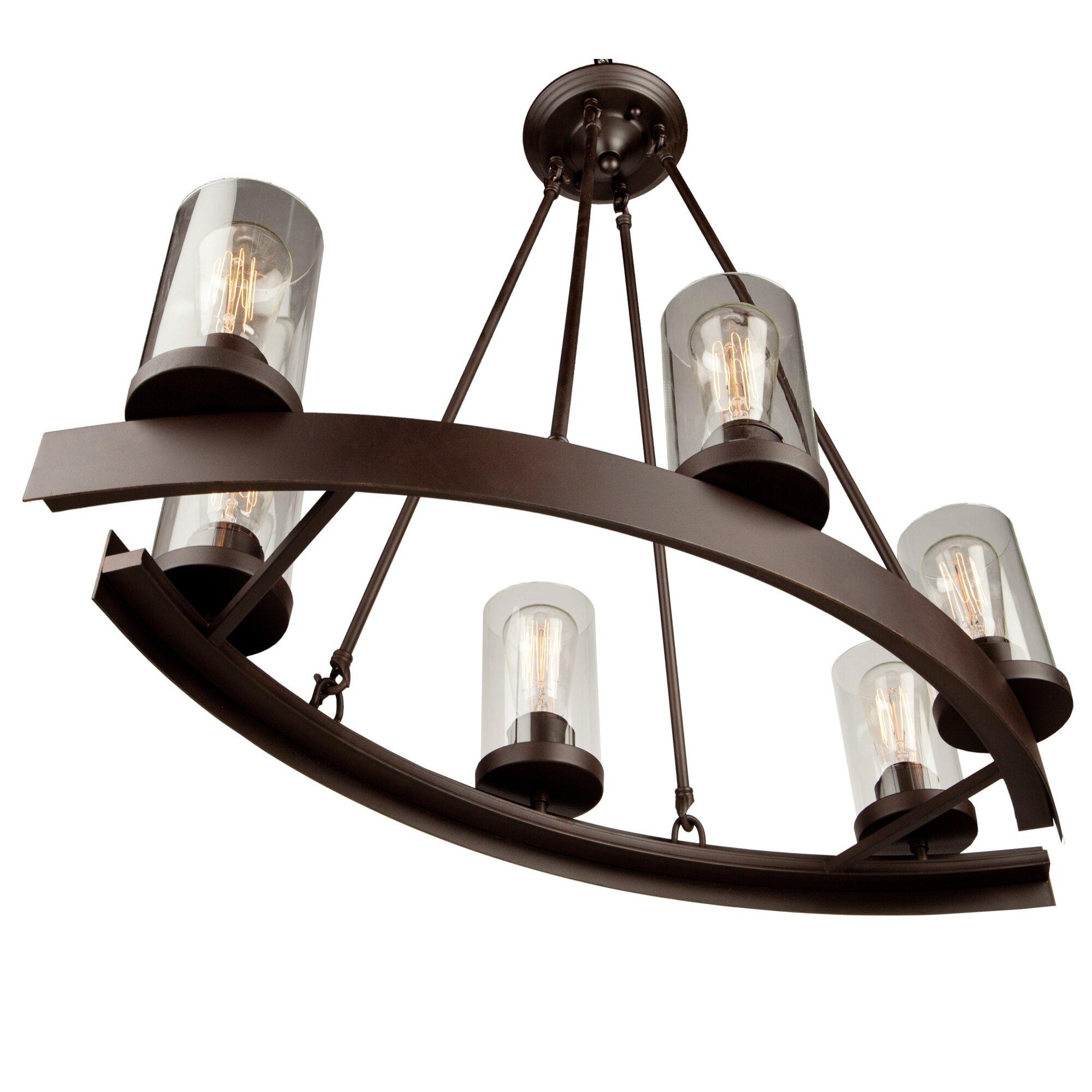 Artcraft Lighting Melno Park 6 Light Chandelier Reviews