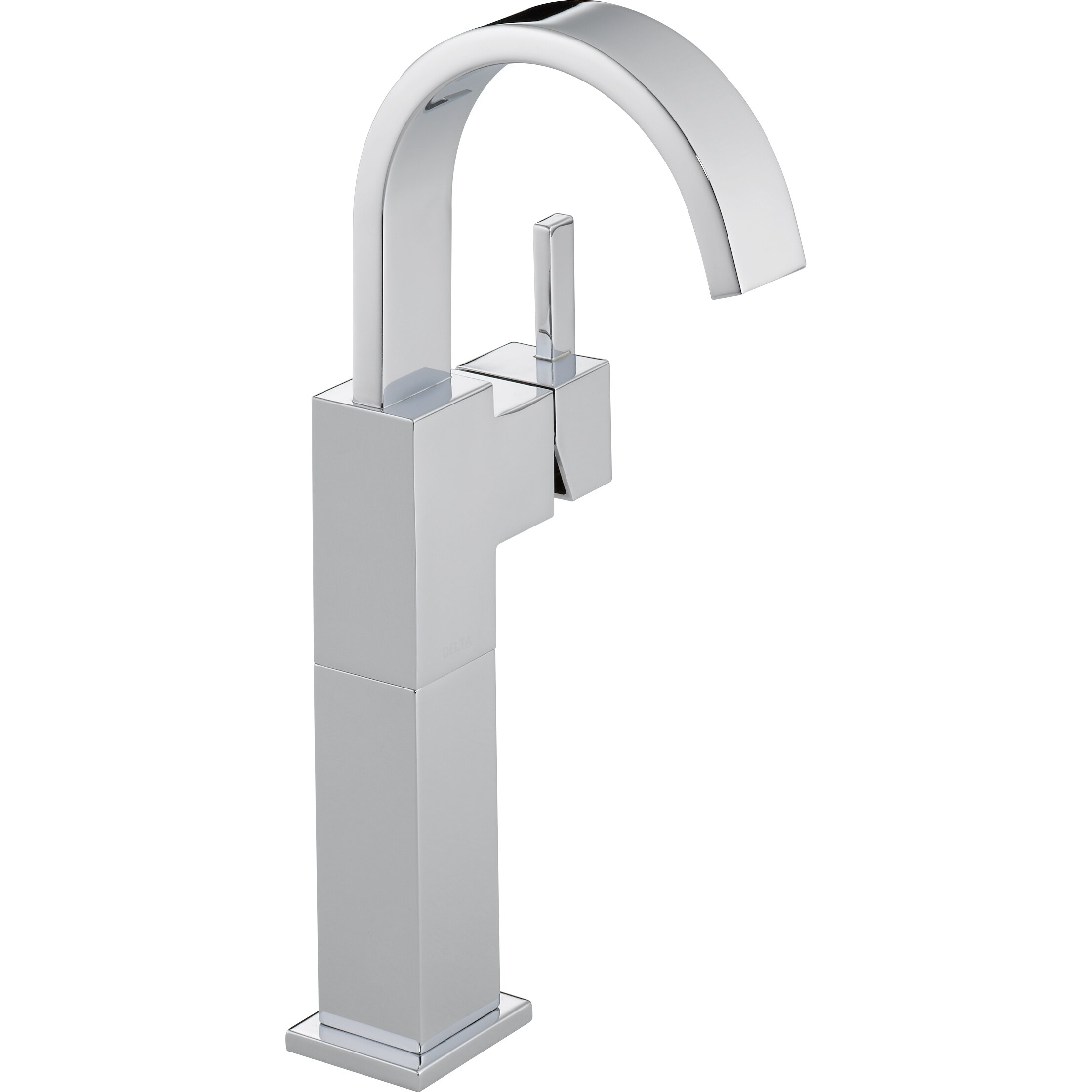 Delta Vero Single Hole Vessel Bathroom Faucet With Riser Reviews Wayfair
