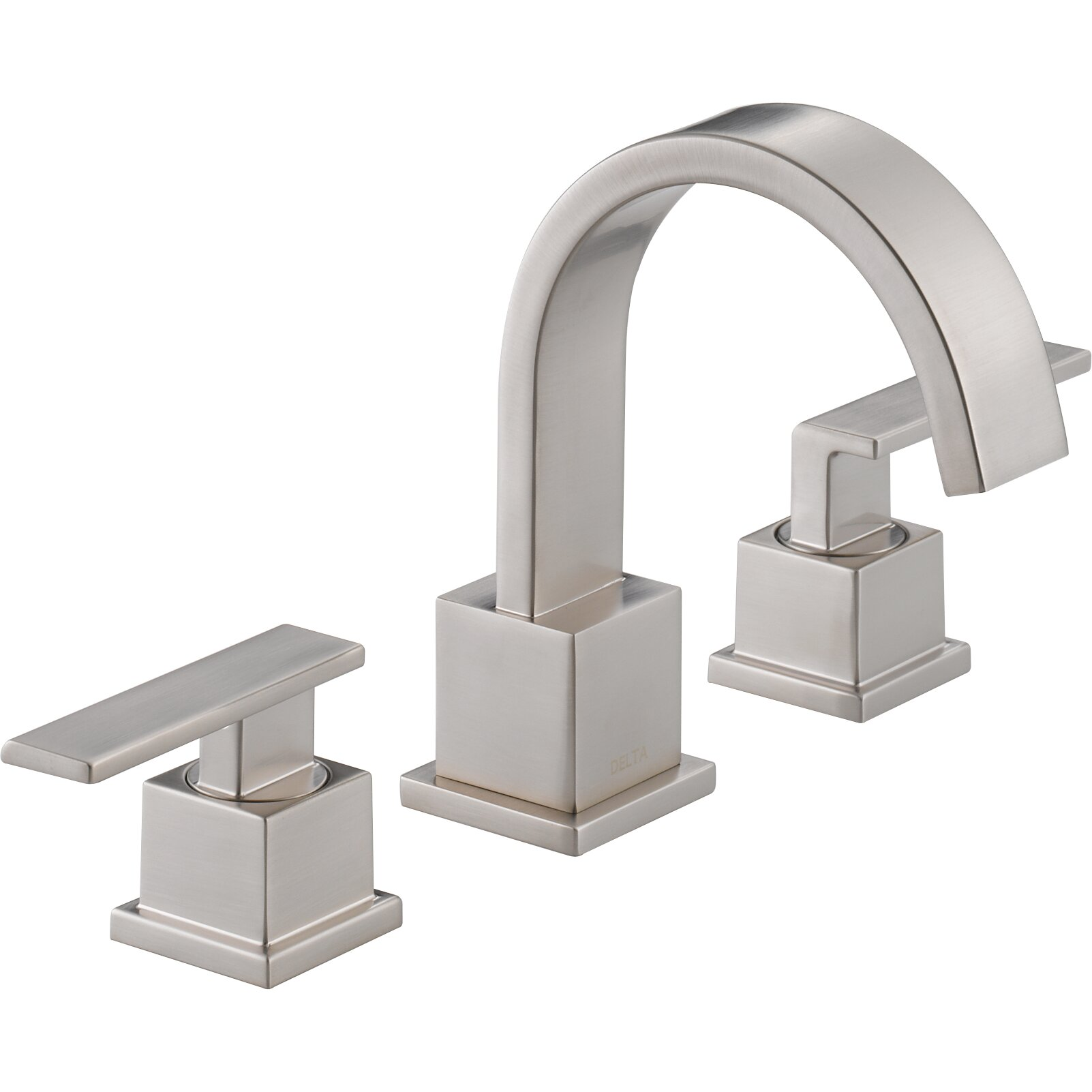 Delta vero two handle widespread bathroom faucet reviews wayfair for Delta widespread bathroom faucet
