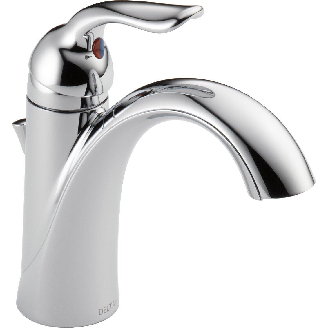 Delta Lahara Standard Bathroom Faucet Lever Handle