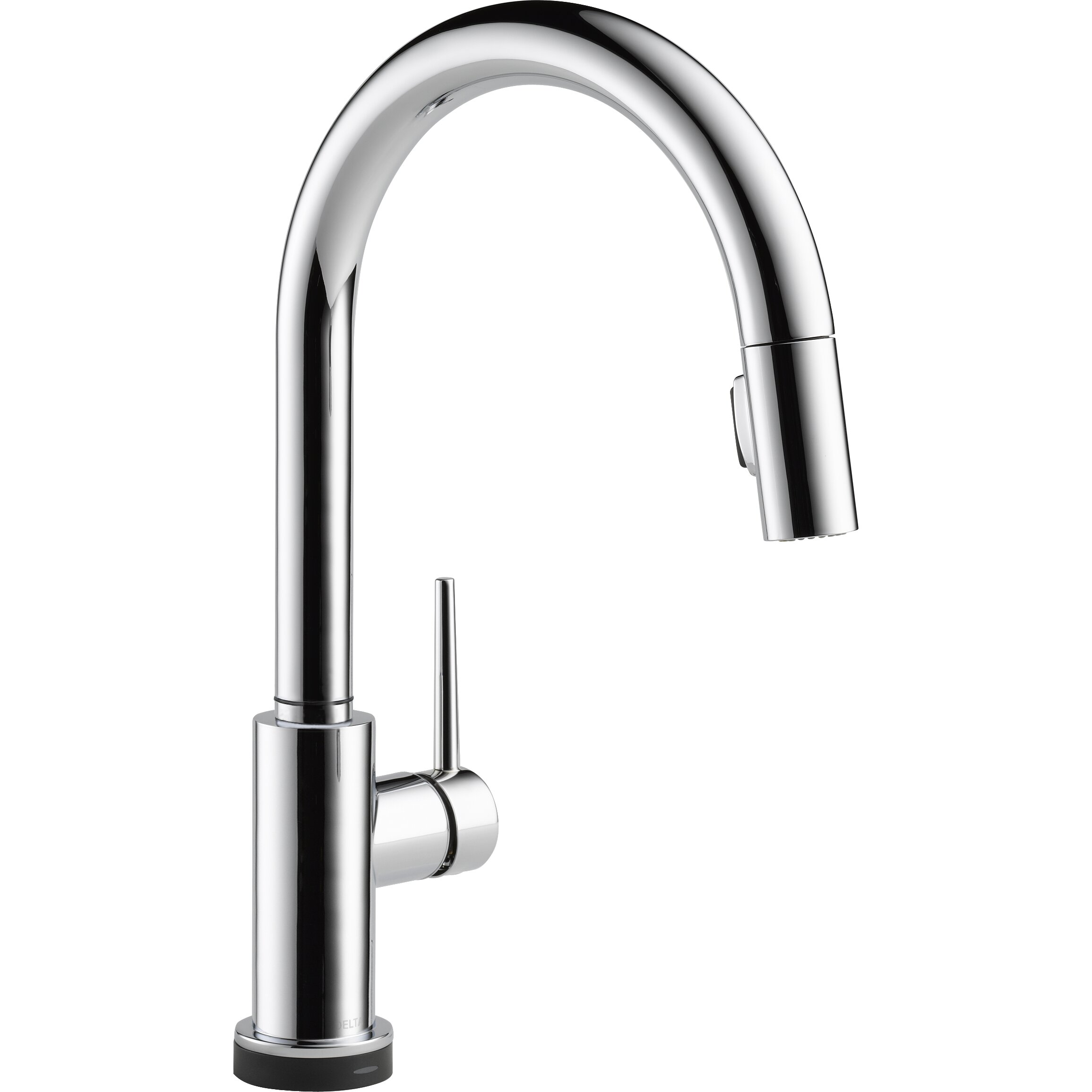 Trinsic  Single Handle Deck Mounted Kitchen Faucet By Delta