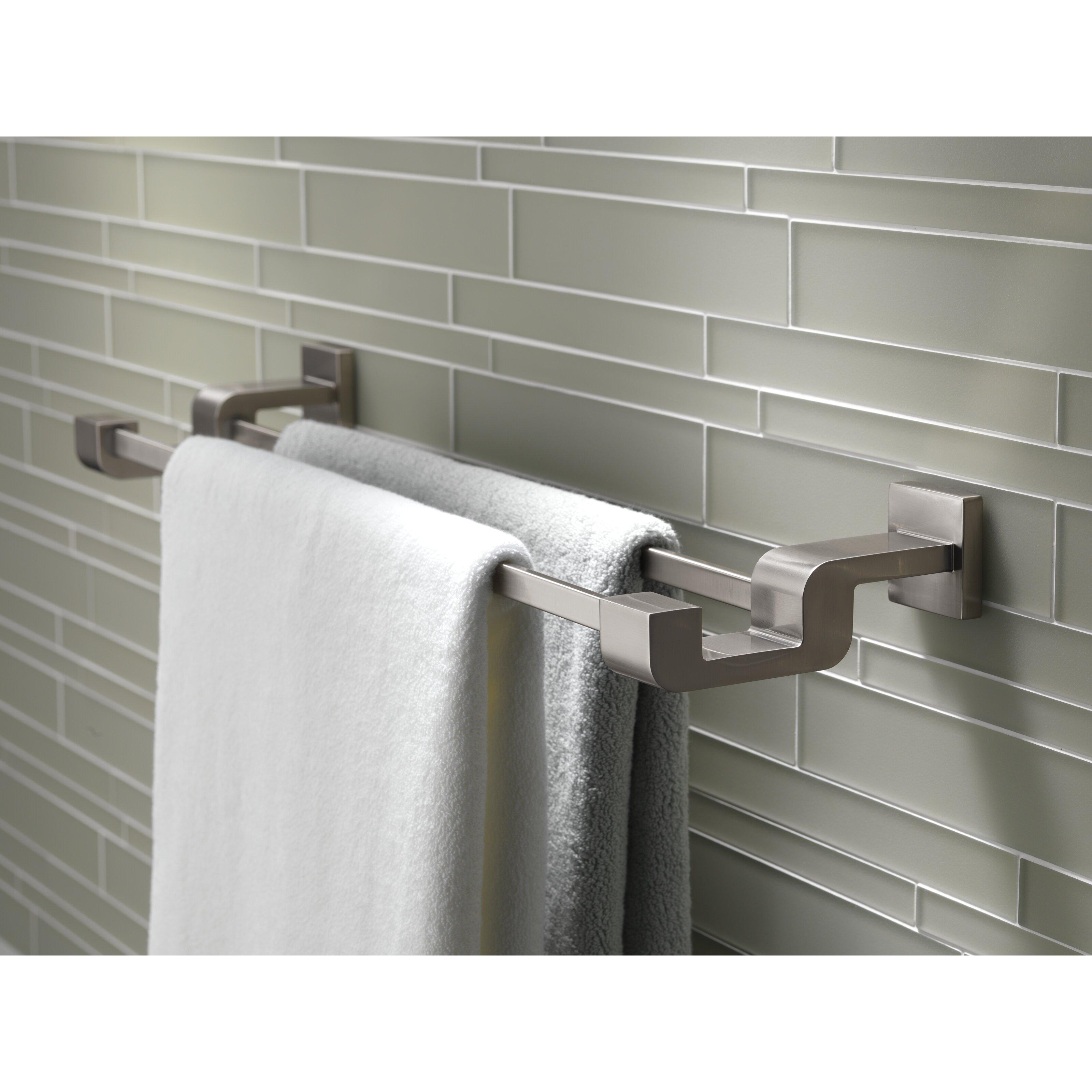 "Delta Urban Arzo 24"" Wall Mounted Towel Bar"