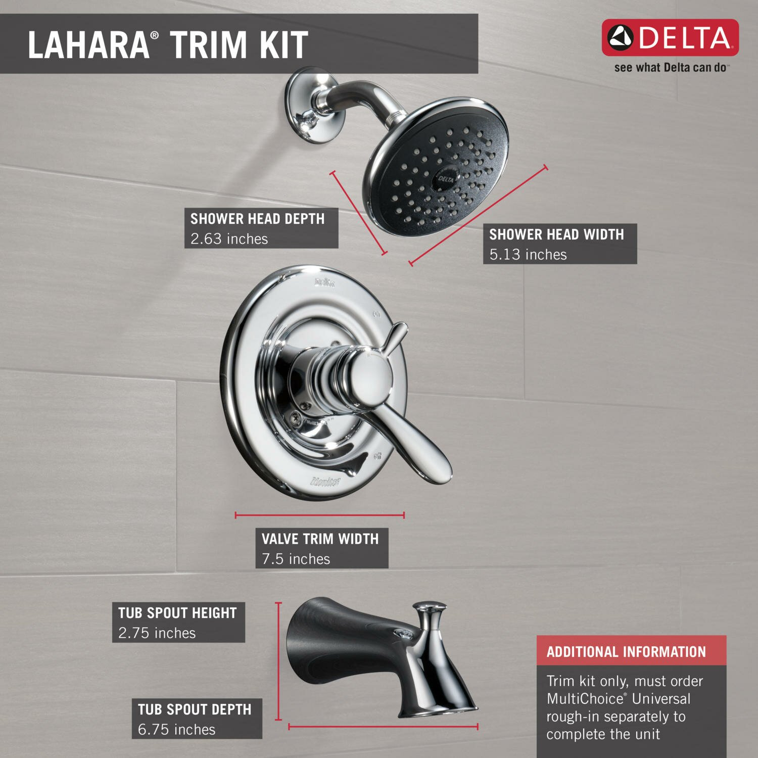 delta lahara tub and shower faucet trim with lever handles reviews