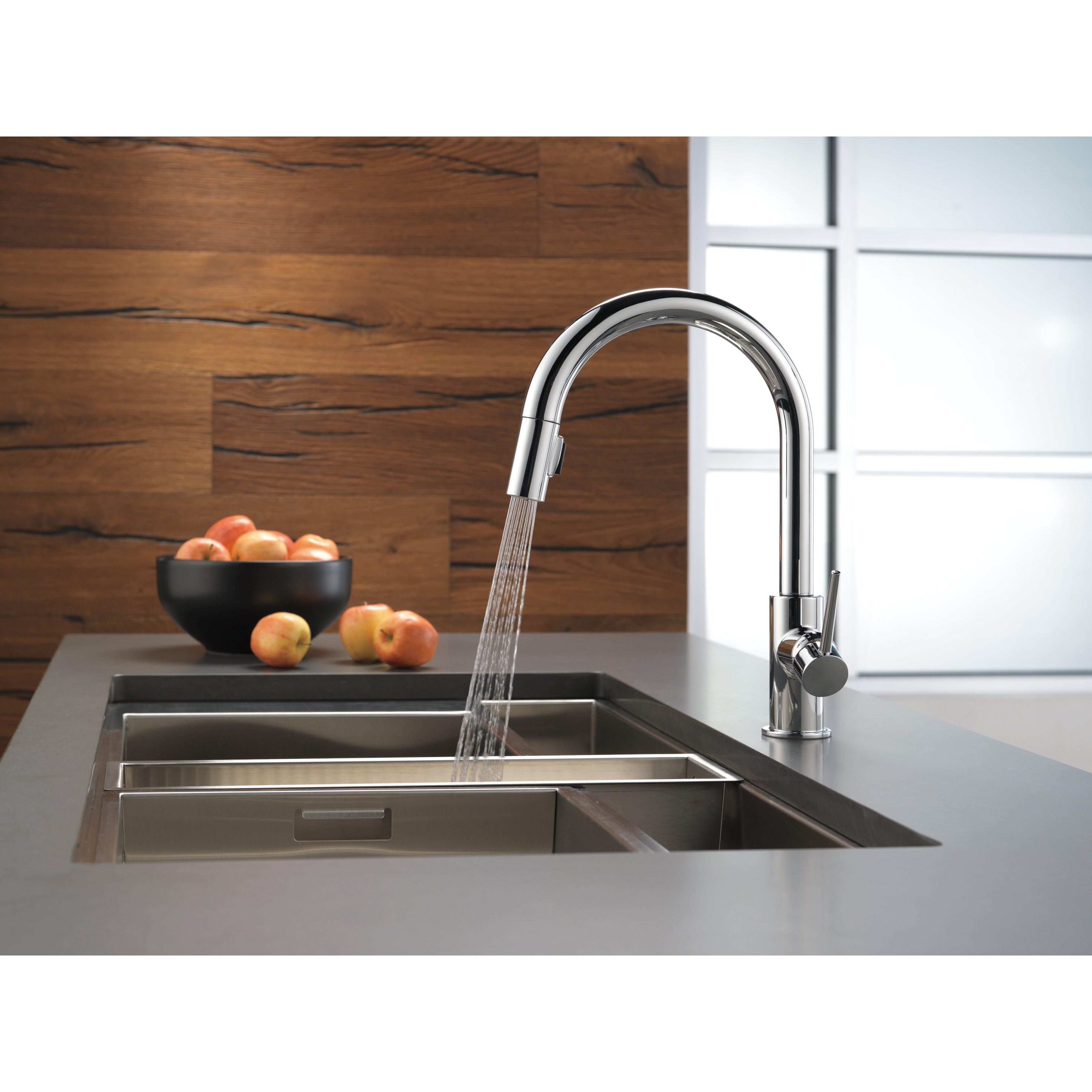 "Delta Trinsic® Kitchen 15"" Single Handle Pull Down"