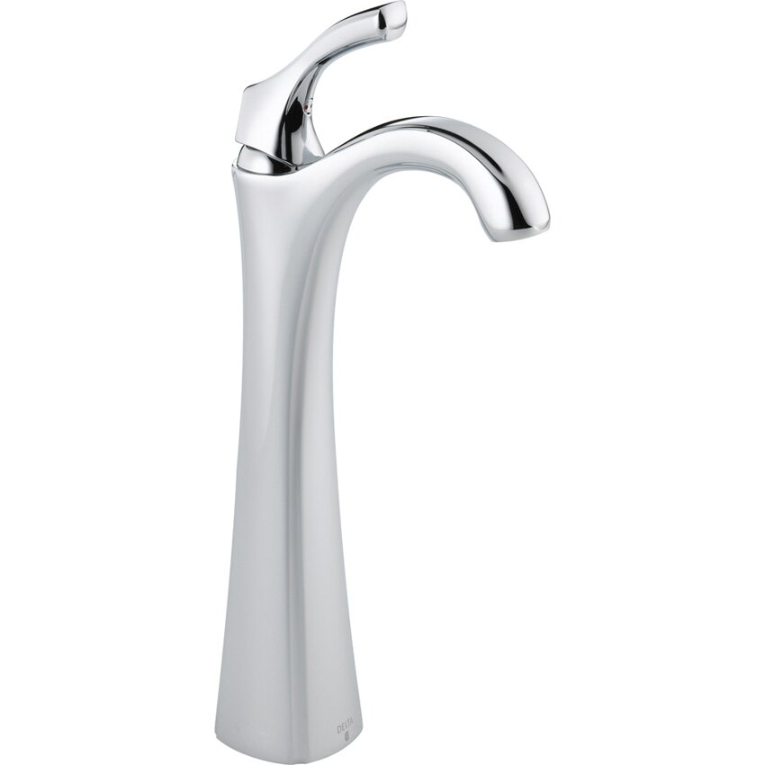 Delta Addison Single Hole Sink Bathroom Faucet with Single Handle and ...