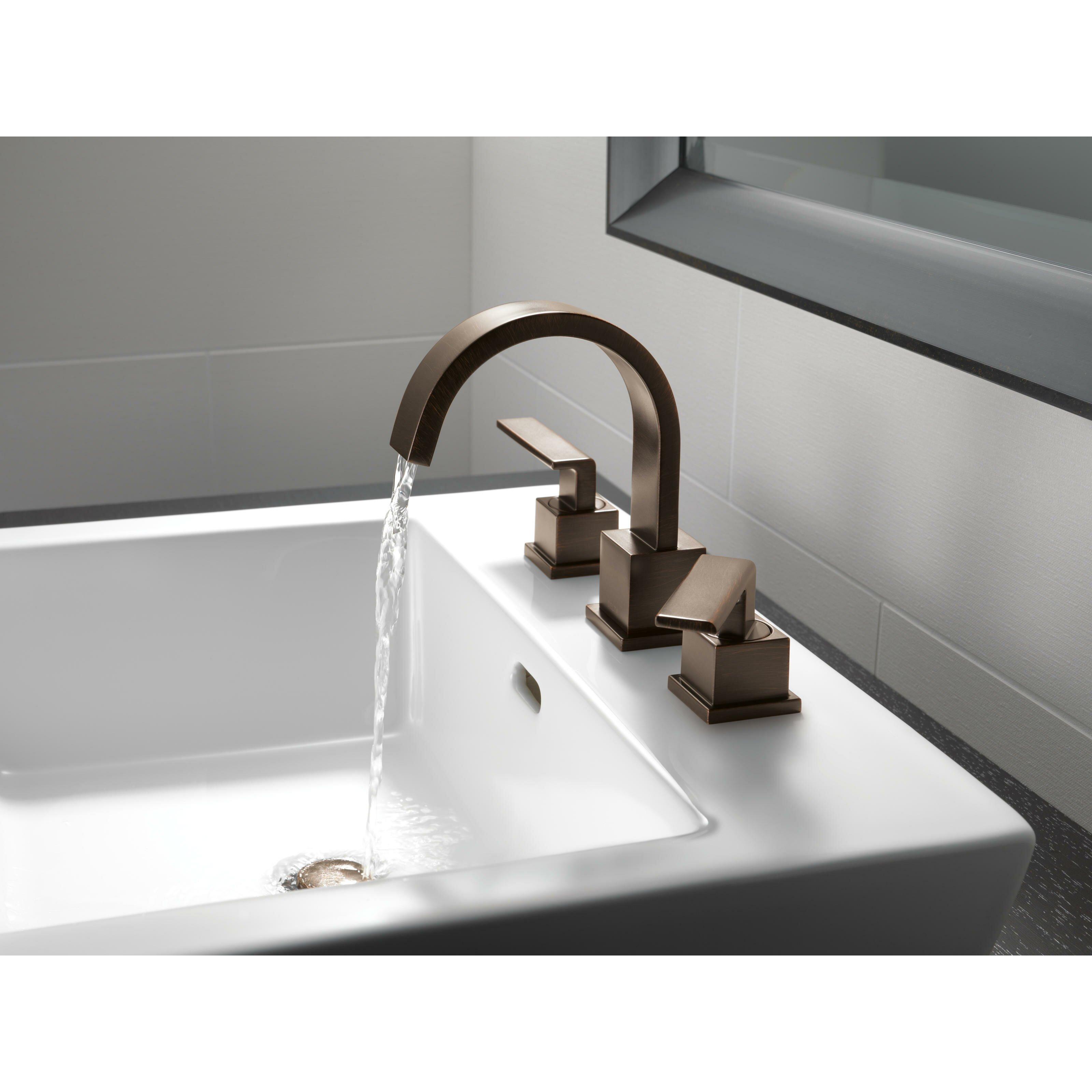Delta Vero Two Handle Widespread Bathroom Faucet & Reviews