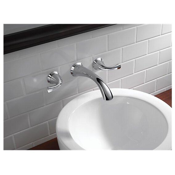 Delta Addison Bathroom Faucet Trim Double Handle With Drain Assembly Wayfair
