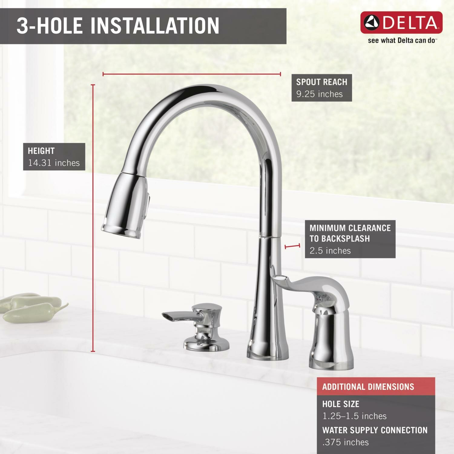 delta kate single handle deck mounted kitchen faucet with leland 174 collection delta faucet